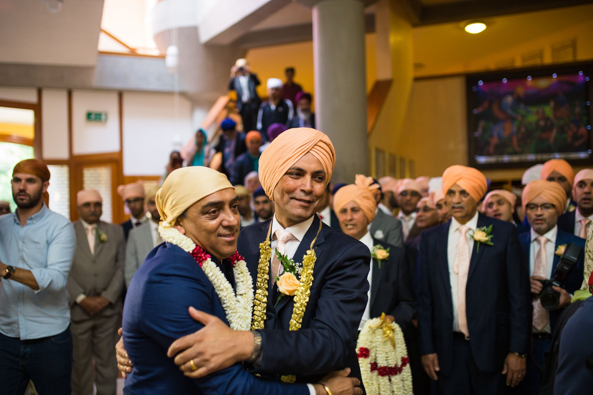 Sikh wedding photographer London, Gurdwara Sri Guru Singh Sabha