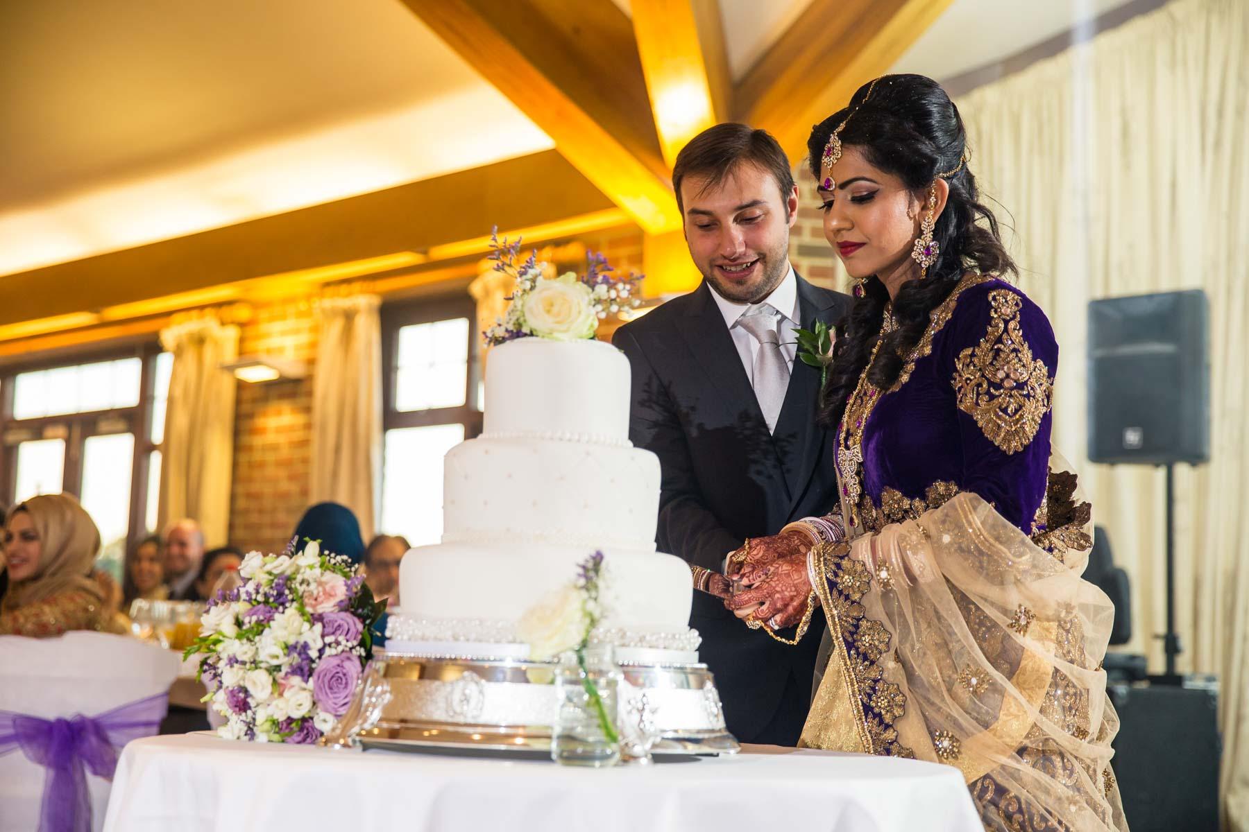 Surrey asian wedding photographer, Surrey National Golf Club