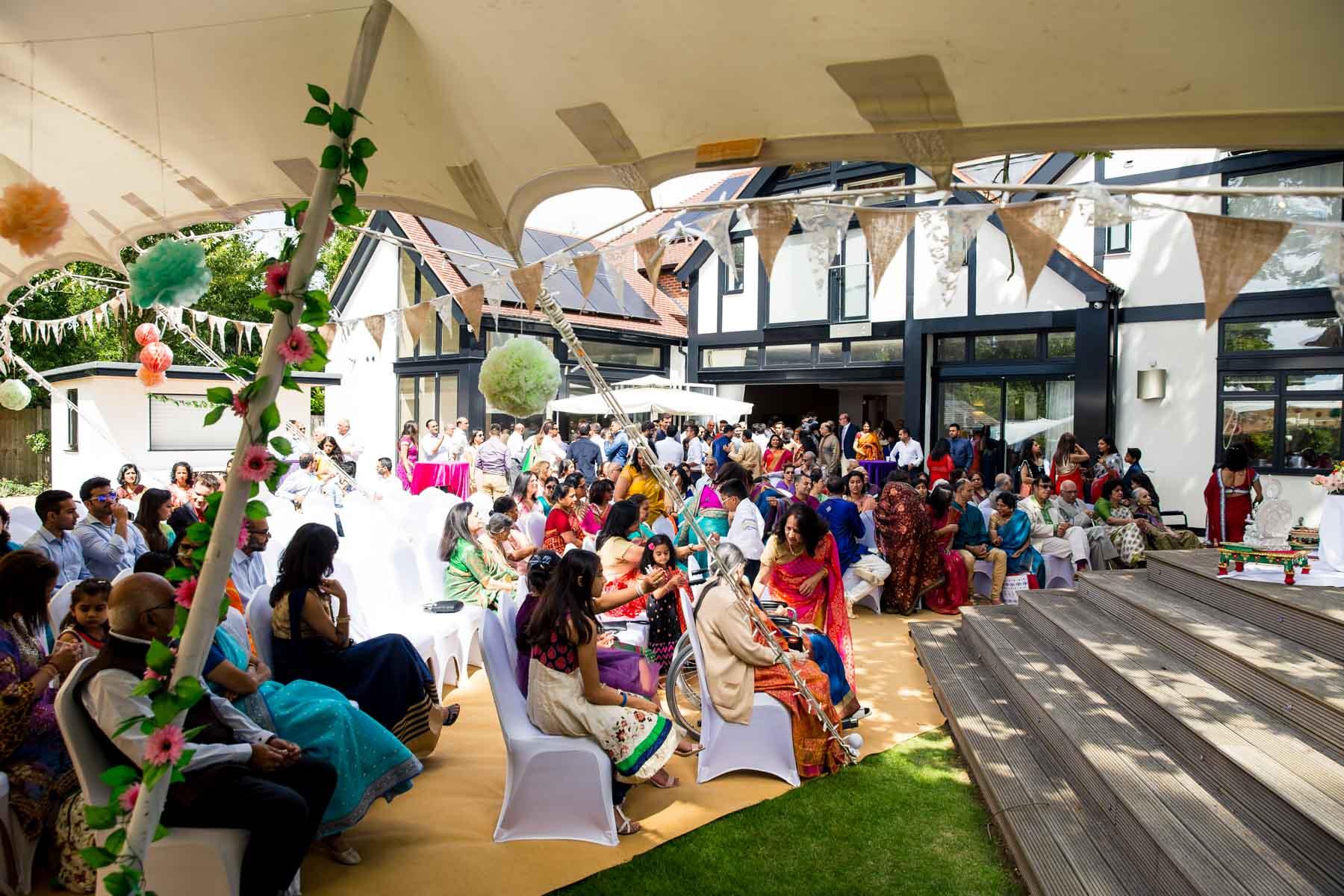 Indian wedding photographer London, engagement ceremony