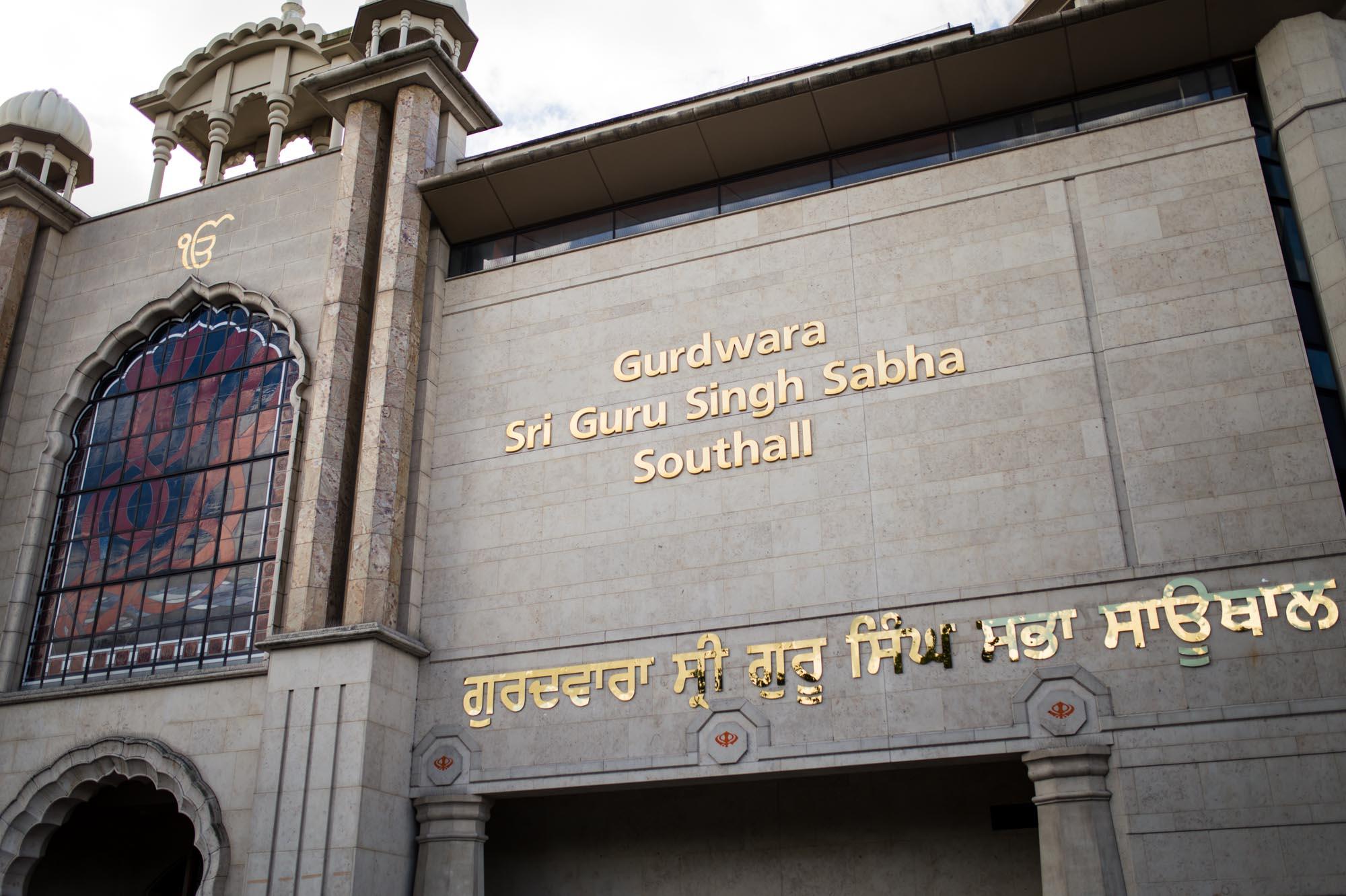 Gurdwara Sri Guru Singh Sabha, Southall, Sikh wedding photographer London
