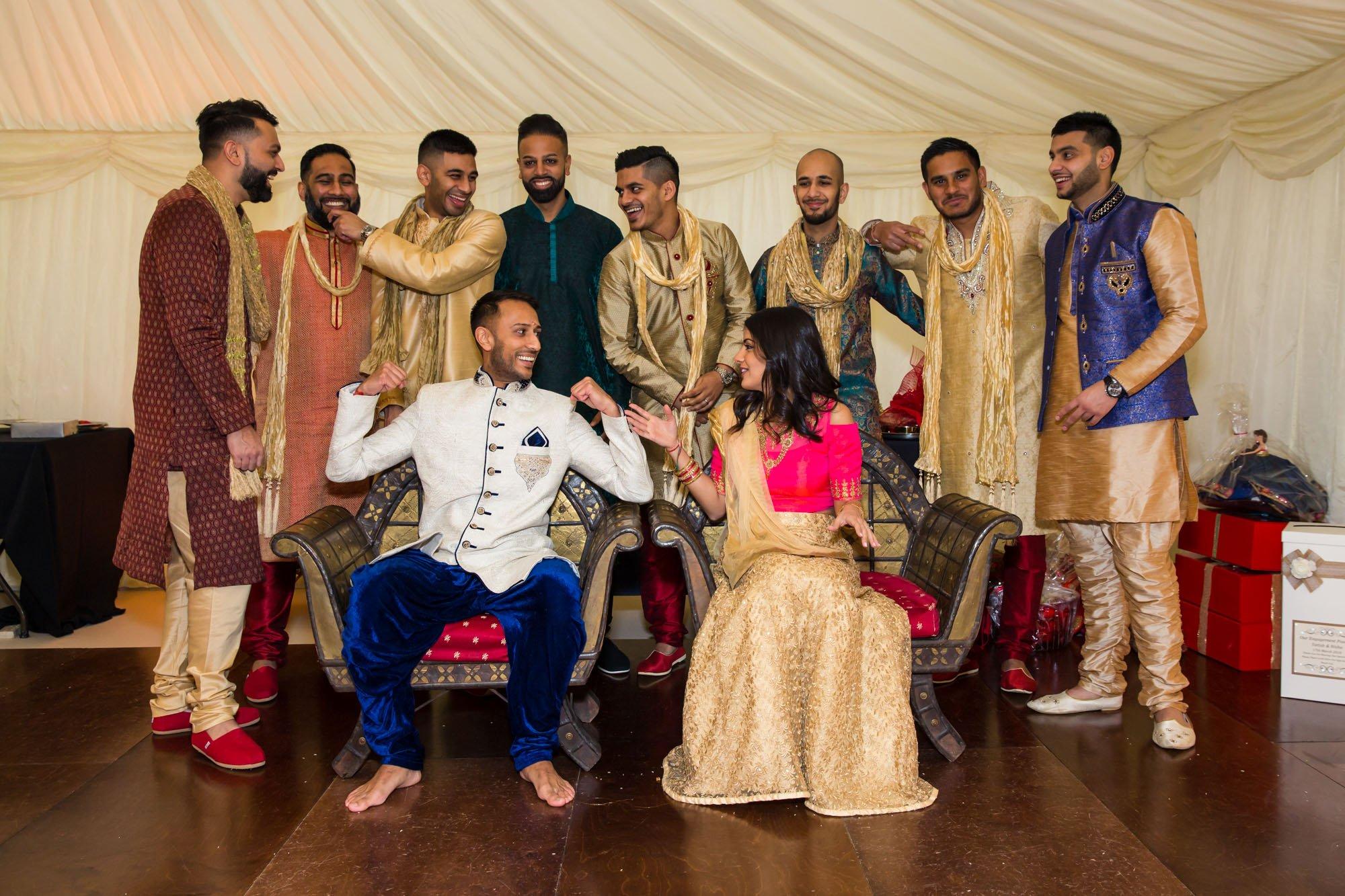 Indian engagement ceremony, London Indian wedding photographer