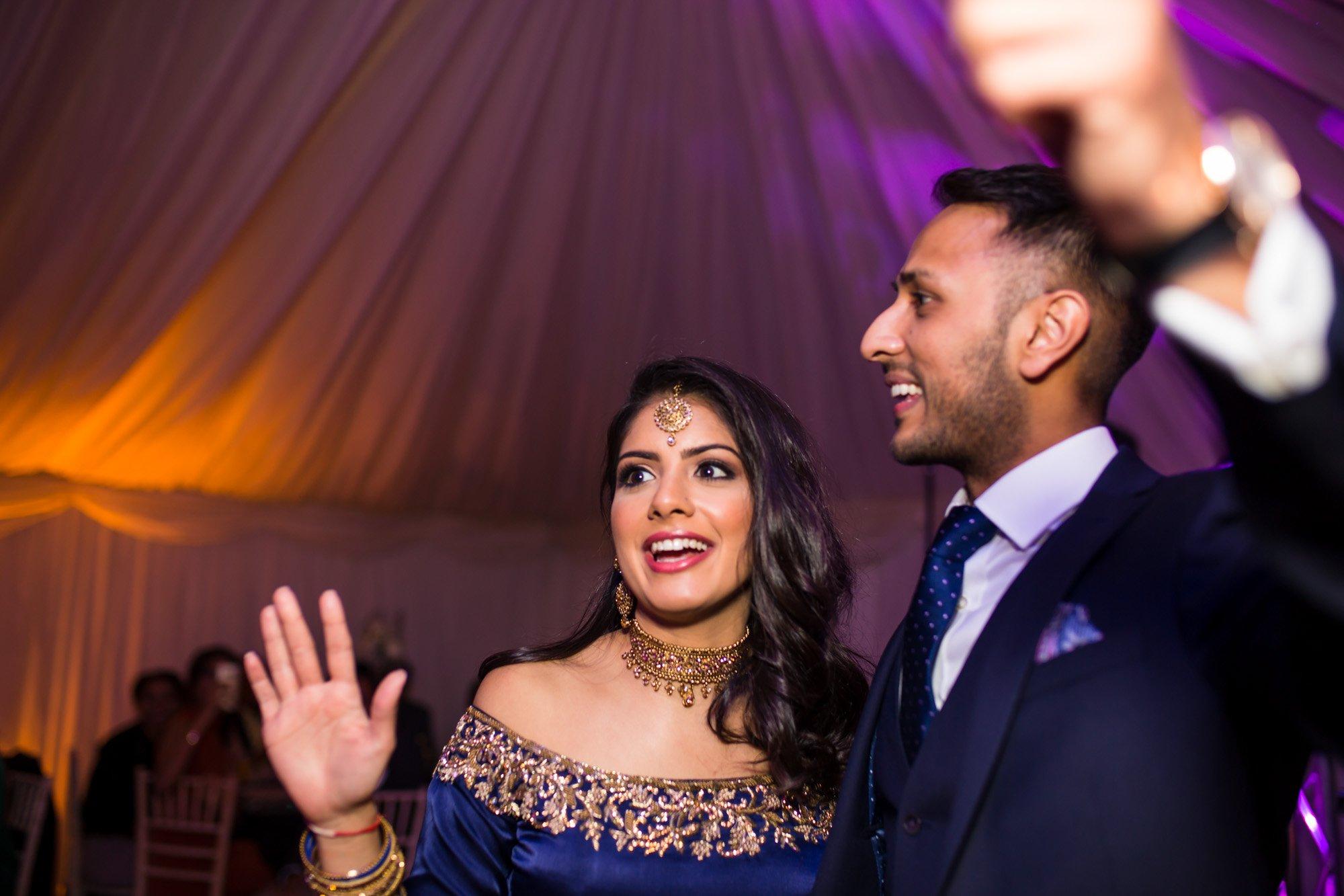 Indian engagement reception, London Indian wedding photographer