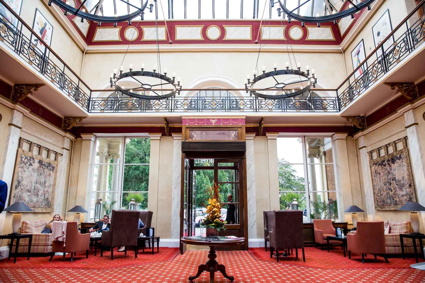 Oatlands Park Hotel, Surrey wedding photographer