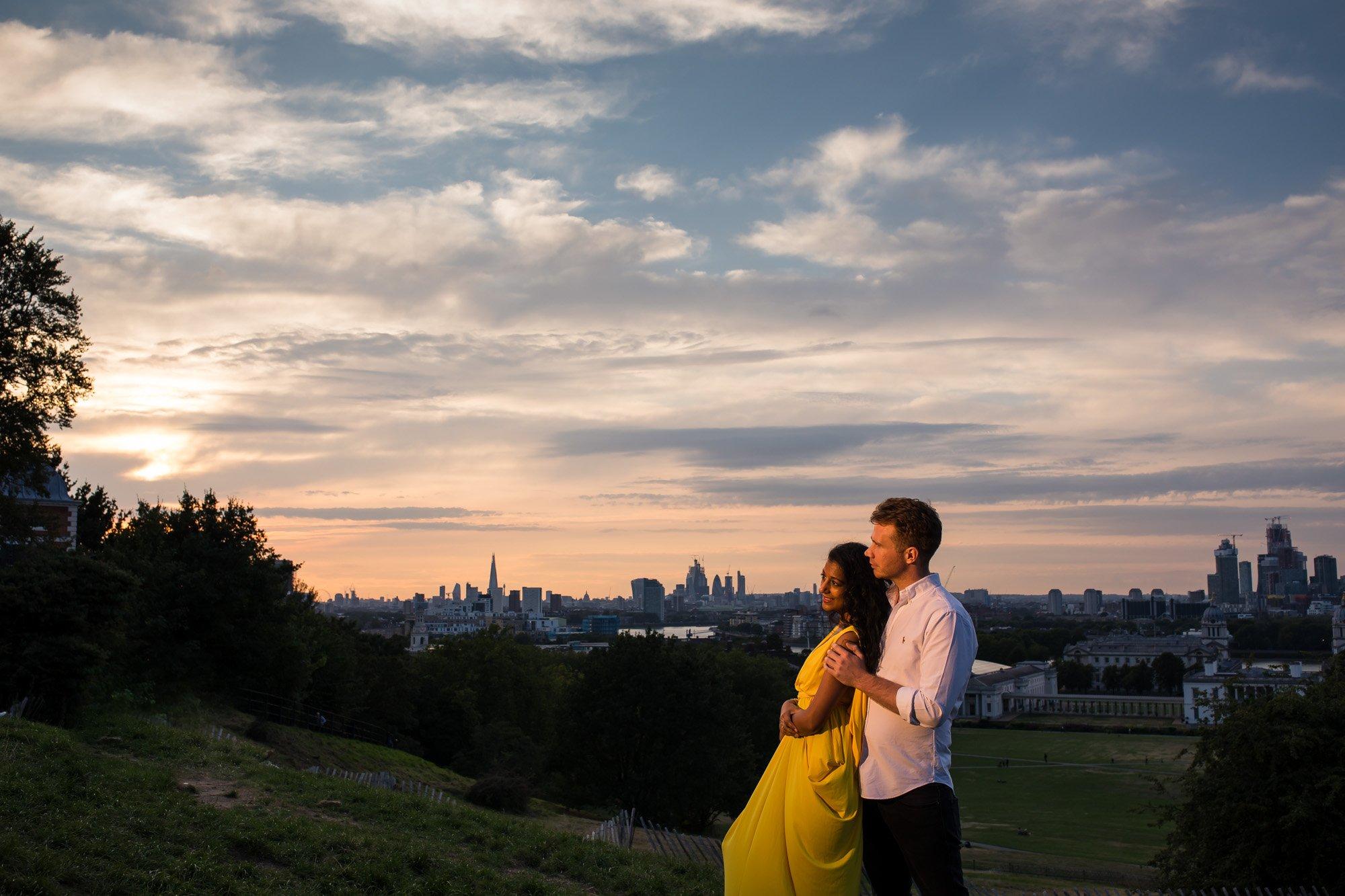 London Indian wedding photographer, Greenwich, pre-wed shoot