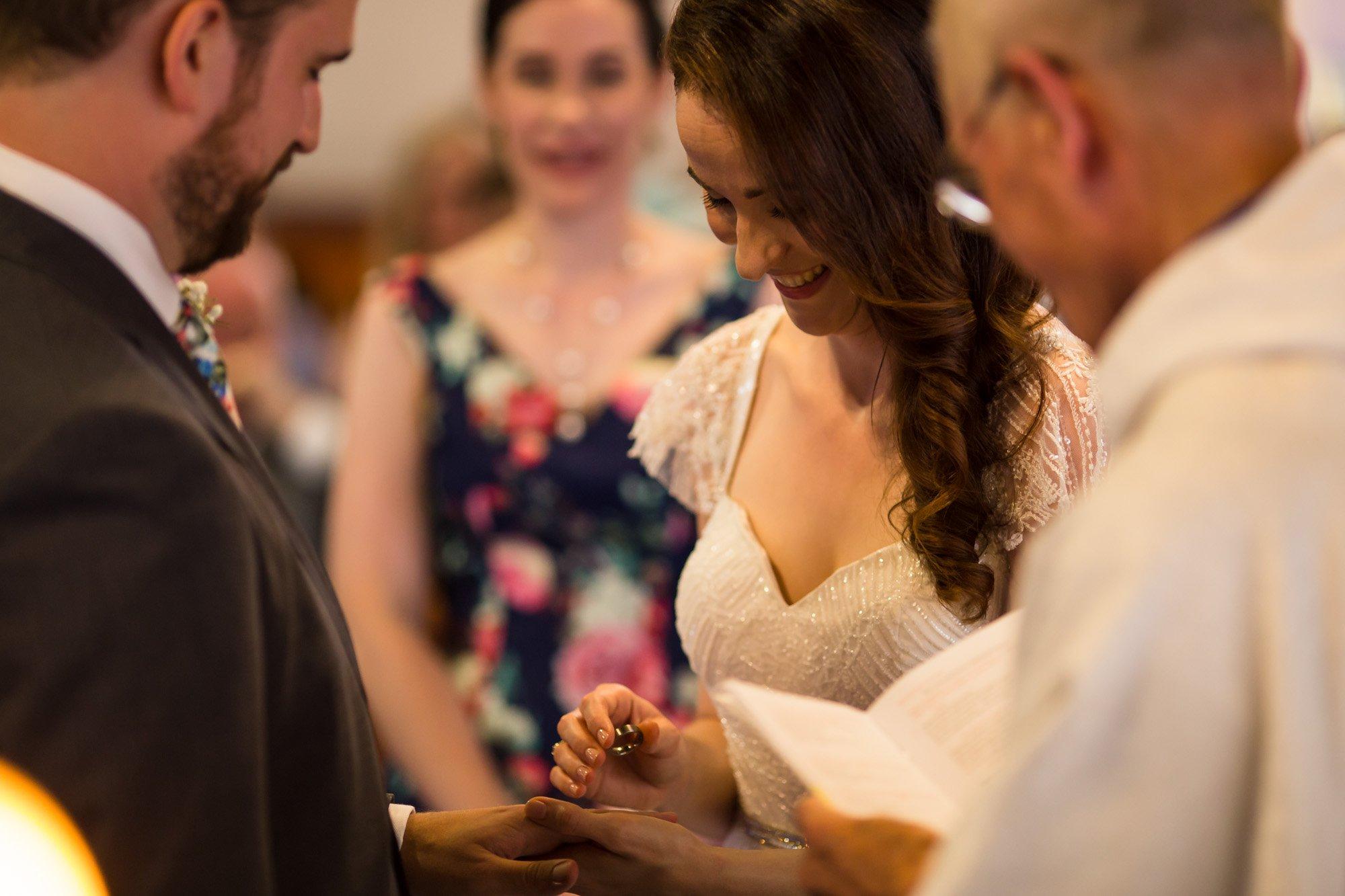 Hertfordshire wedding photographer, Hitchin, church