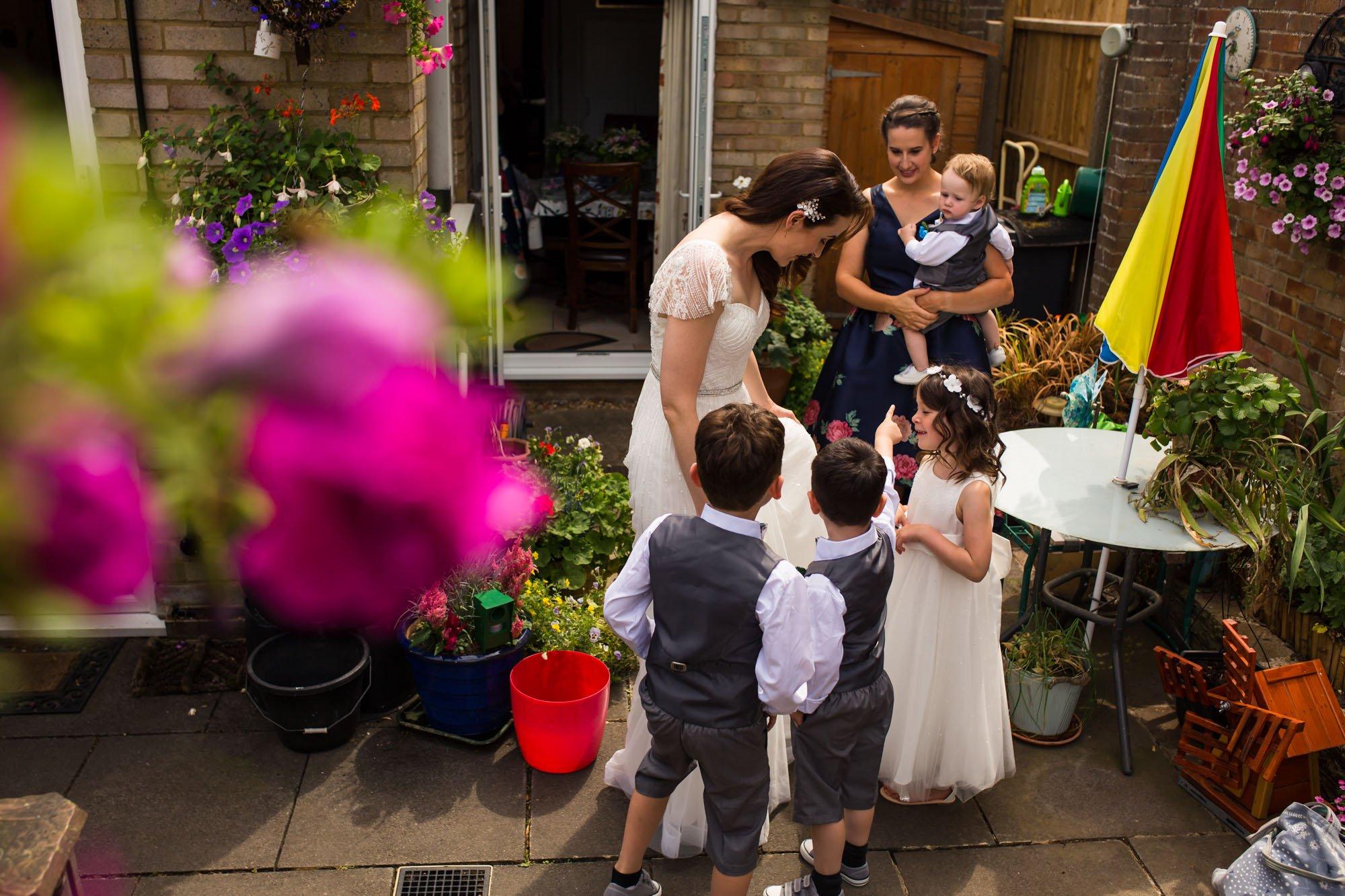 Hertfordshire wedding photographer, Hitchin