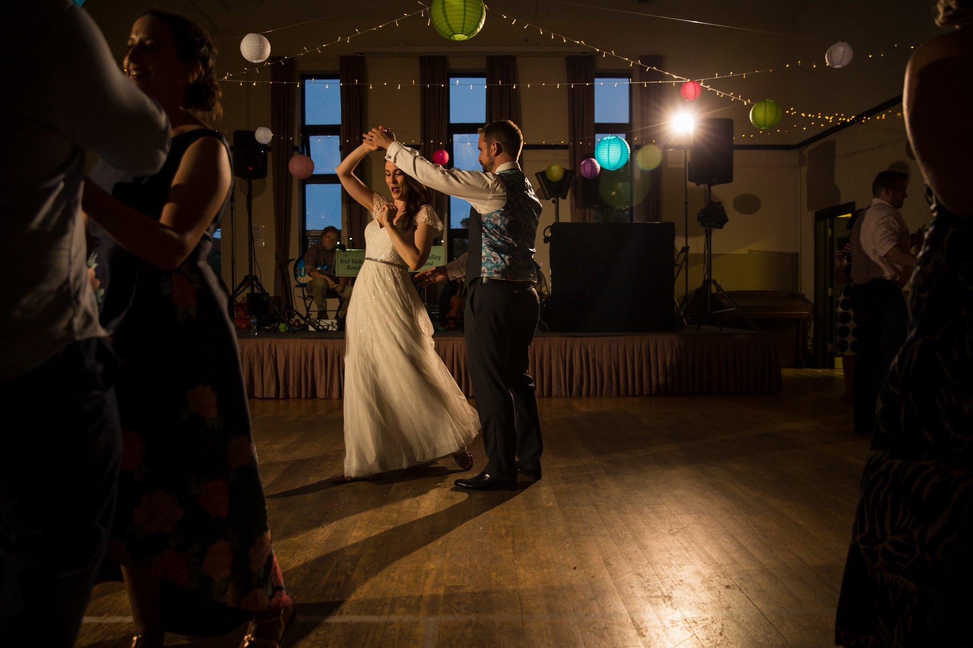 Hertfordshire wedding photographer, Cottered Village Hall, first dance