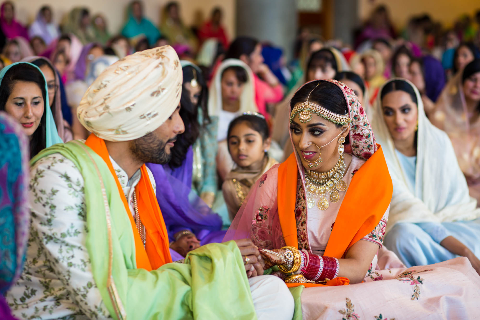 Sikh wedding photographer London, Gurdwara Sri Guru Singh Sabha