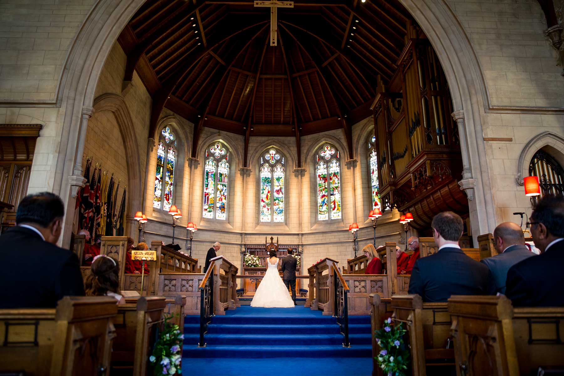 Surrey asian wedding photographer, Trinity Church, Sutton