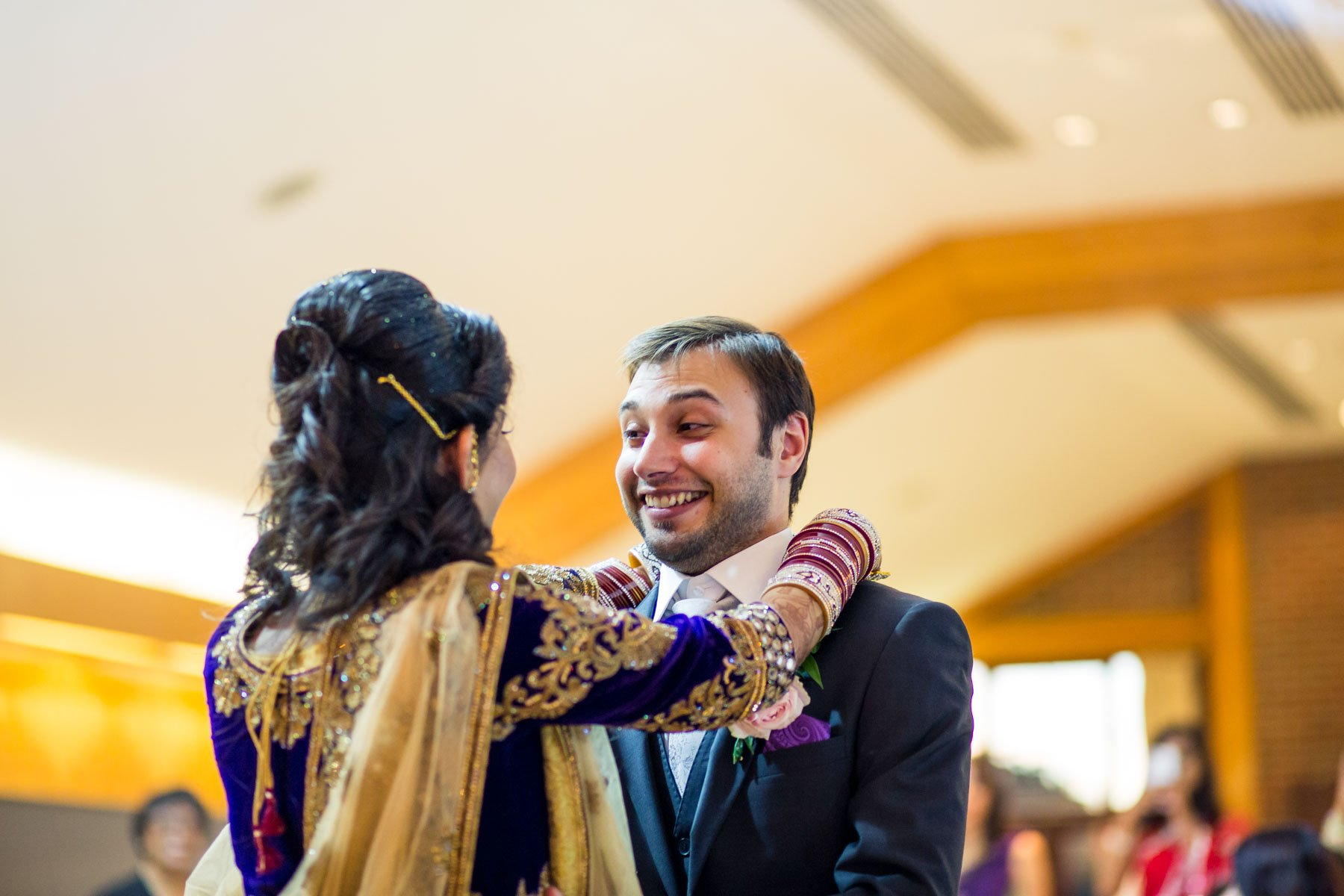Surrey asian wedding photographer, Surrey National Golf Club