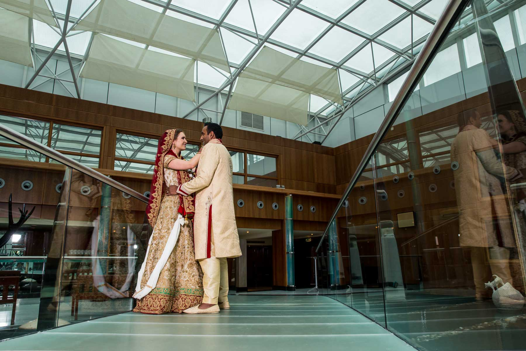 Natural wedding photographer London, Radisson Blu Edwardian Heathrow
