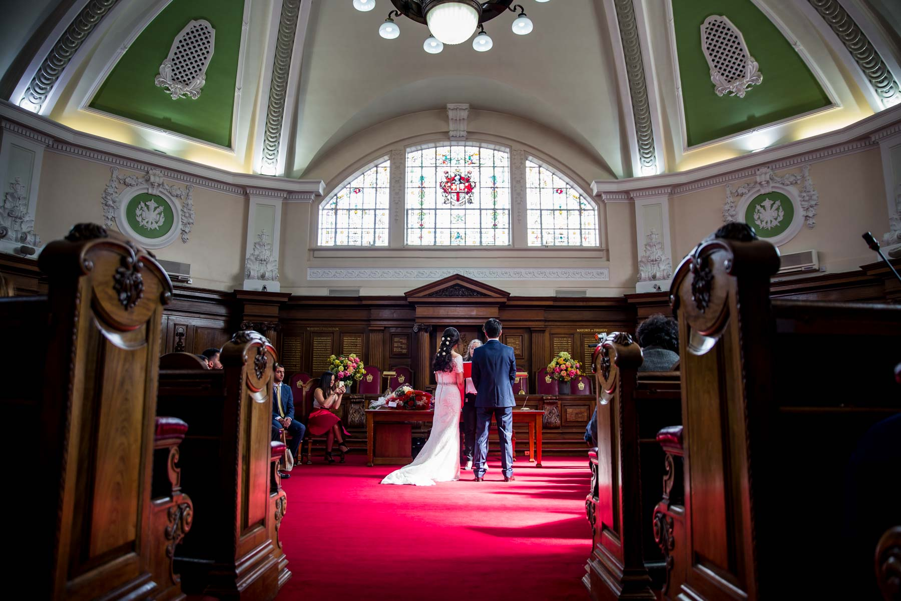 Candid wedding photographer, Islington Town Hall, London