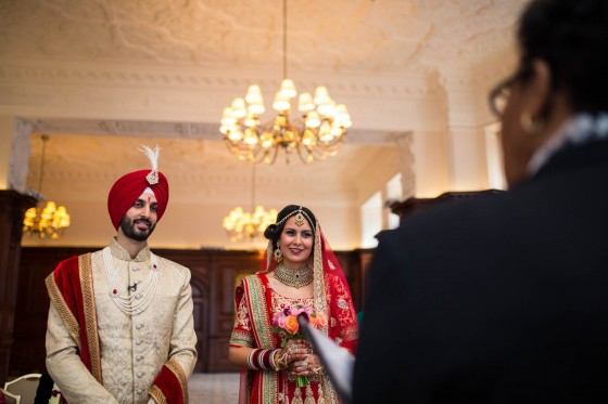 Sikh wedding photographer, Landmark Hotel London