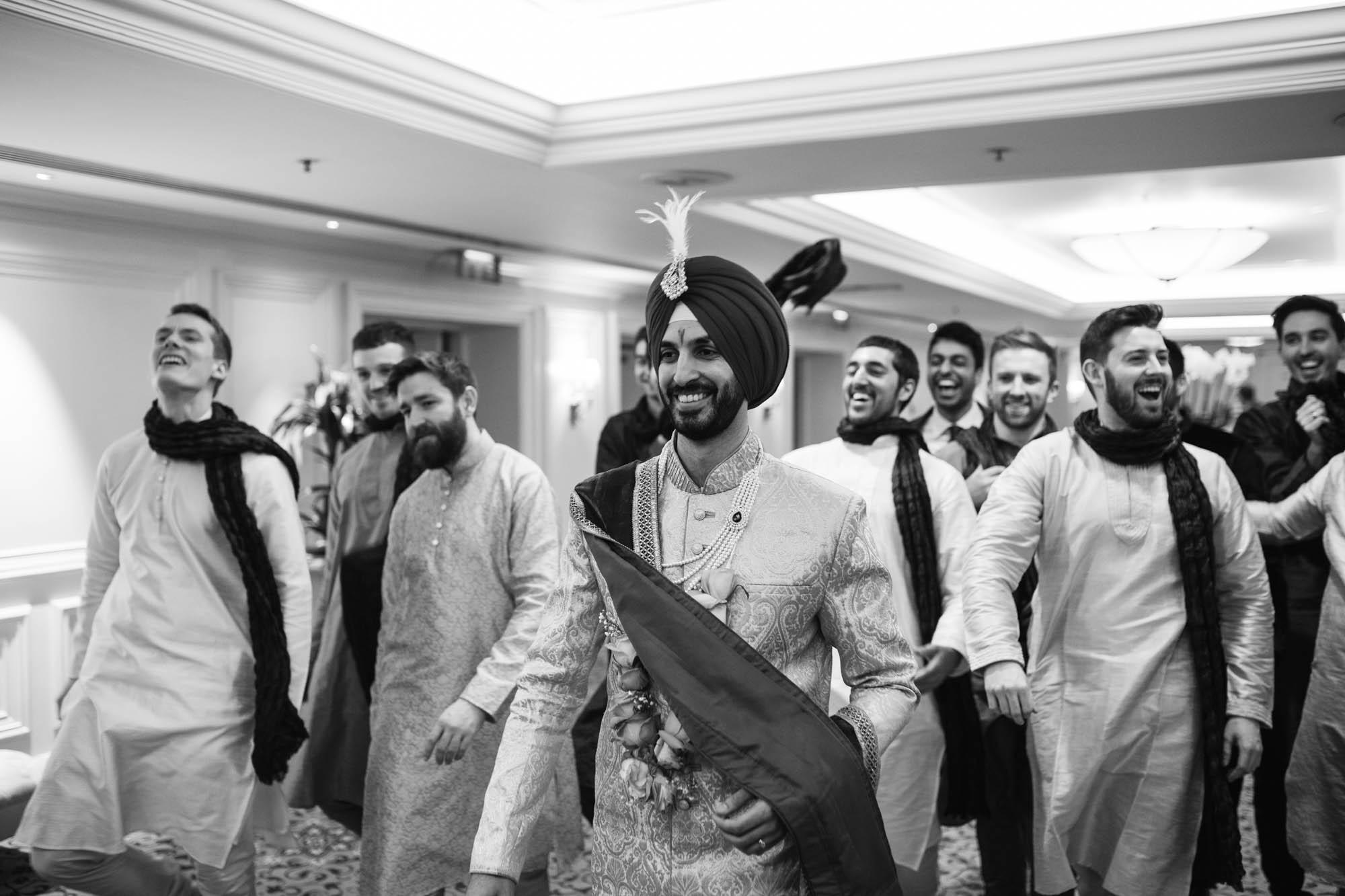 Sikh wedding photographer, Landmark Hotel London