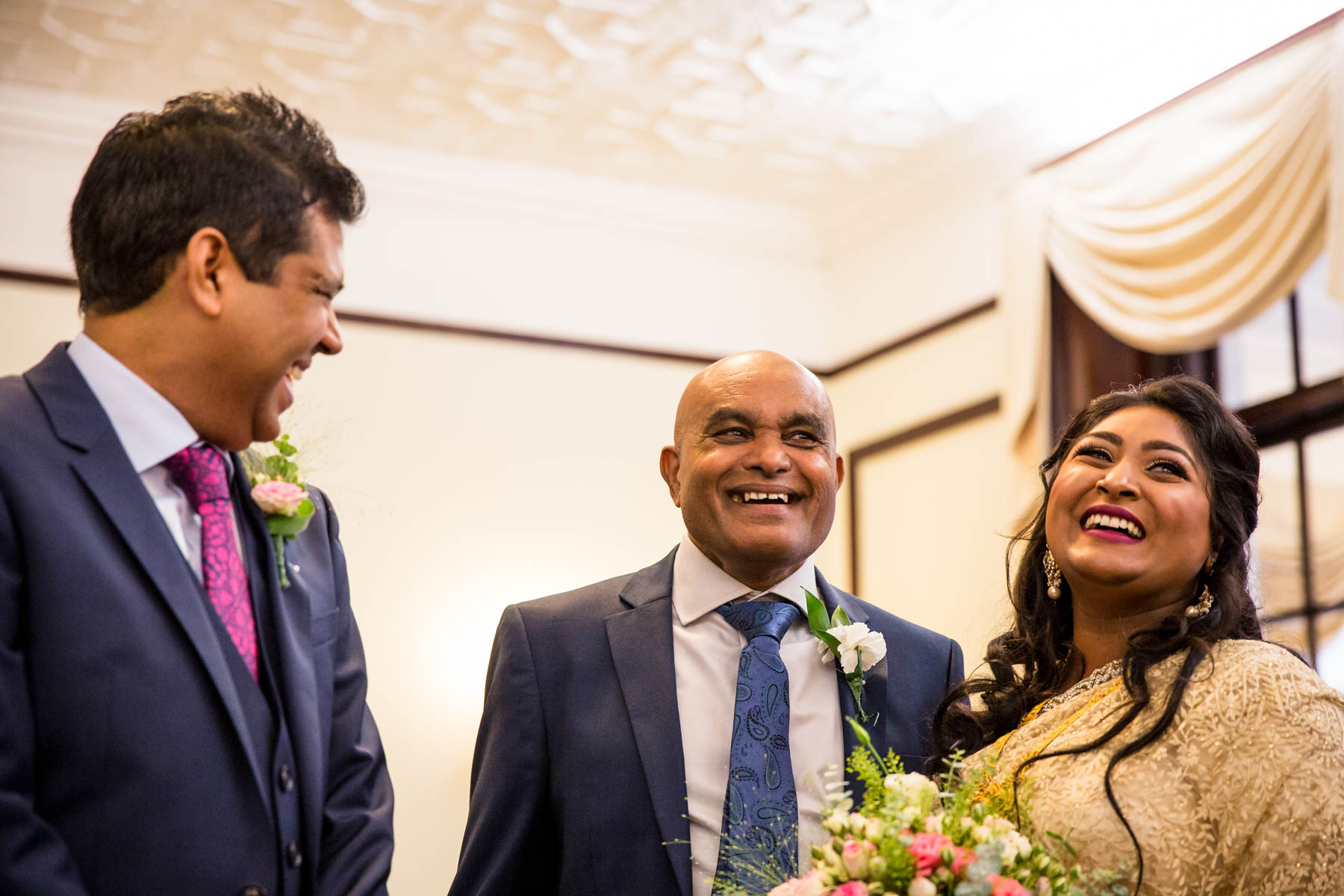 Asian wedding photographer Surrey, Leatherhead registry office