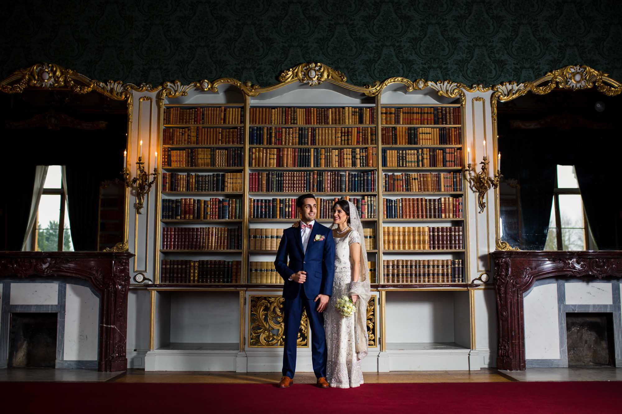 Natural wedding photographer, Wrest Park, Bedfordshire