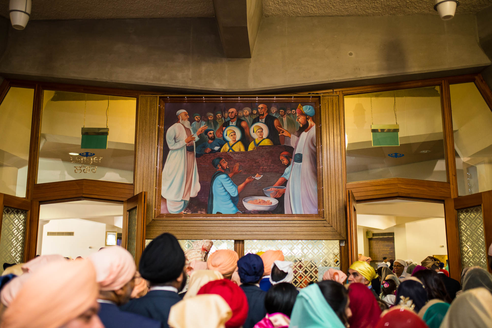 Gurdwara Sri Guru Singh Sabha, Southall, Sikh wedding photographer London