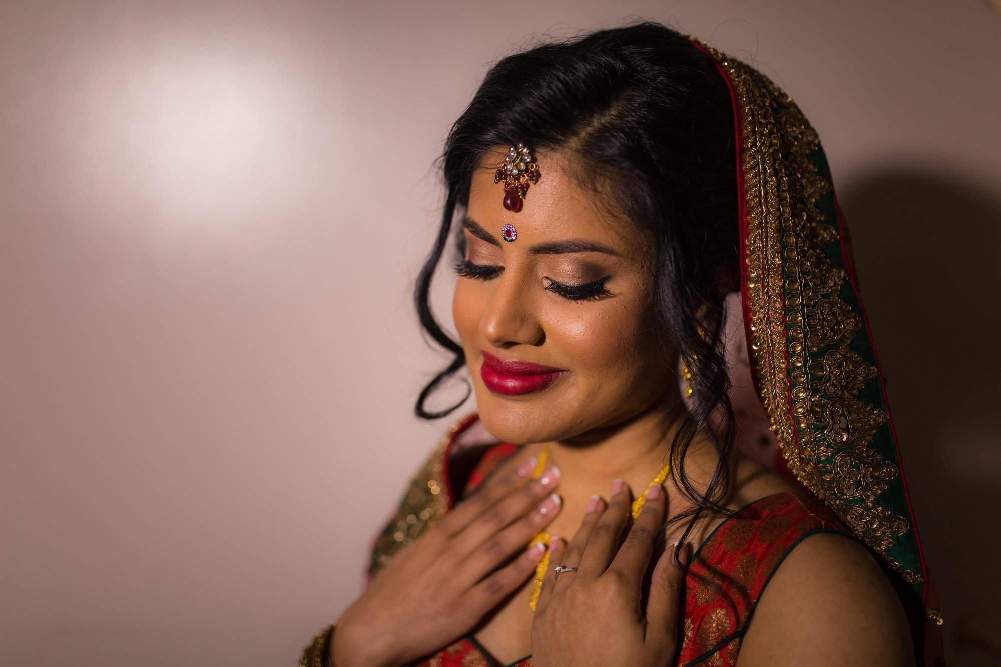 Bhaktivedanta manor, Hertfordshire, Indian wedding photographer, Bride