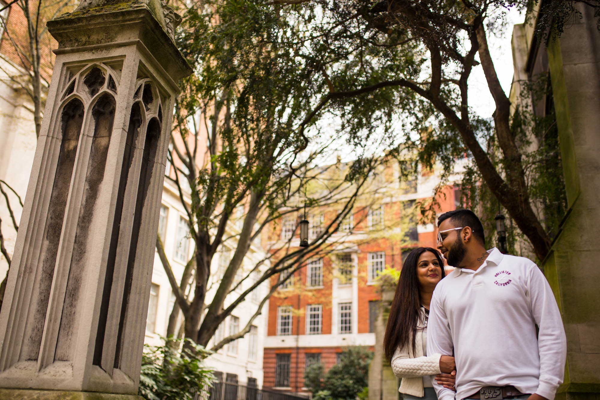 City of London, Indian wedding photographer, St Dunstan-in-the-East