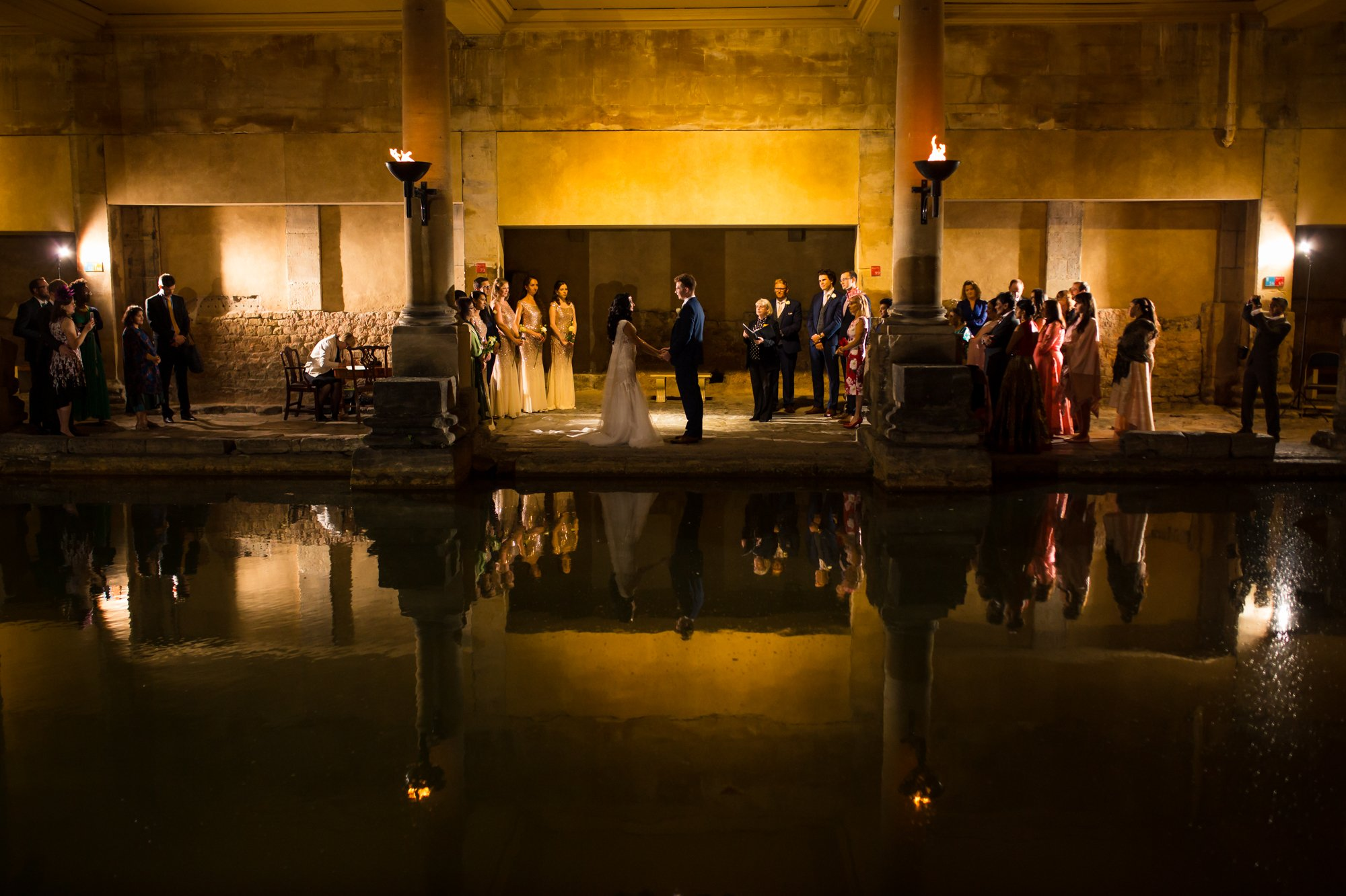 The Roman Baths, Somerset, Indian wedding photographers,