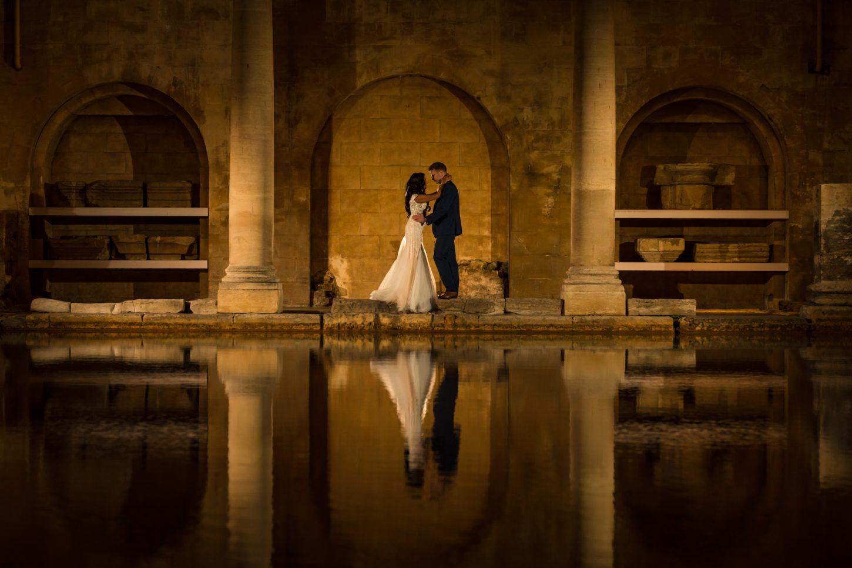 The Roman Baths, Couples portrait, Indian wedding photographers,