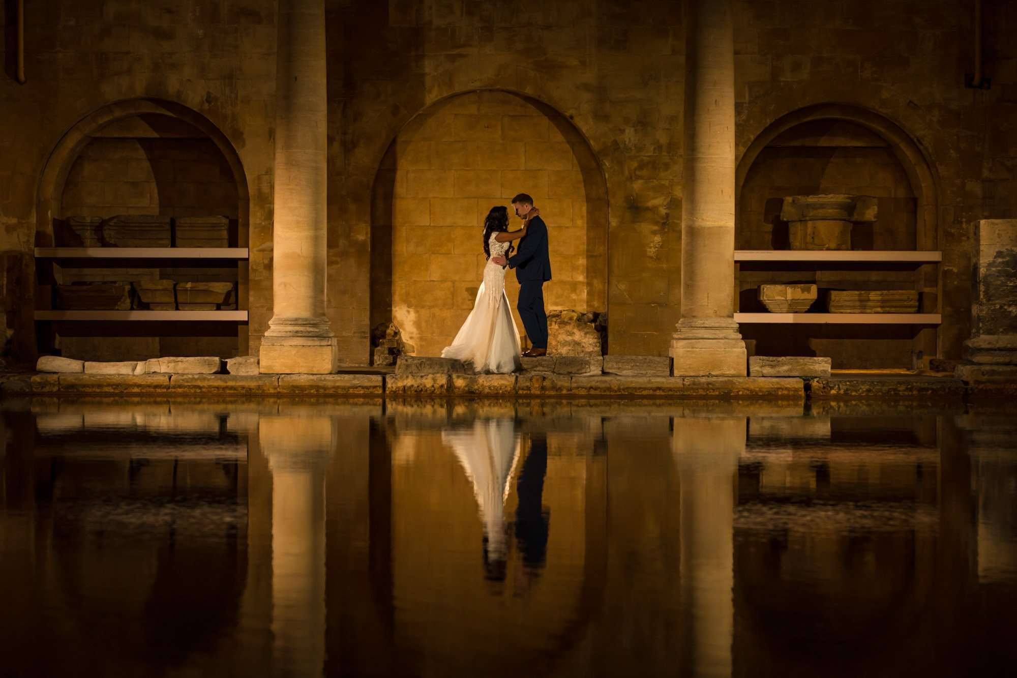 The Roman Baths, Couples portrait, Indian wedding photographers,