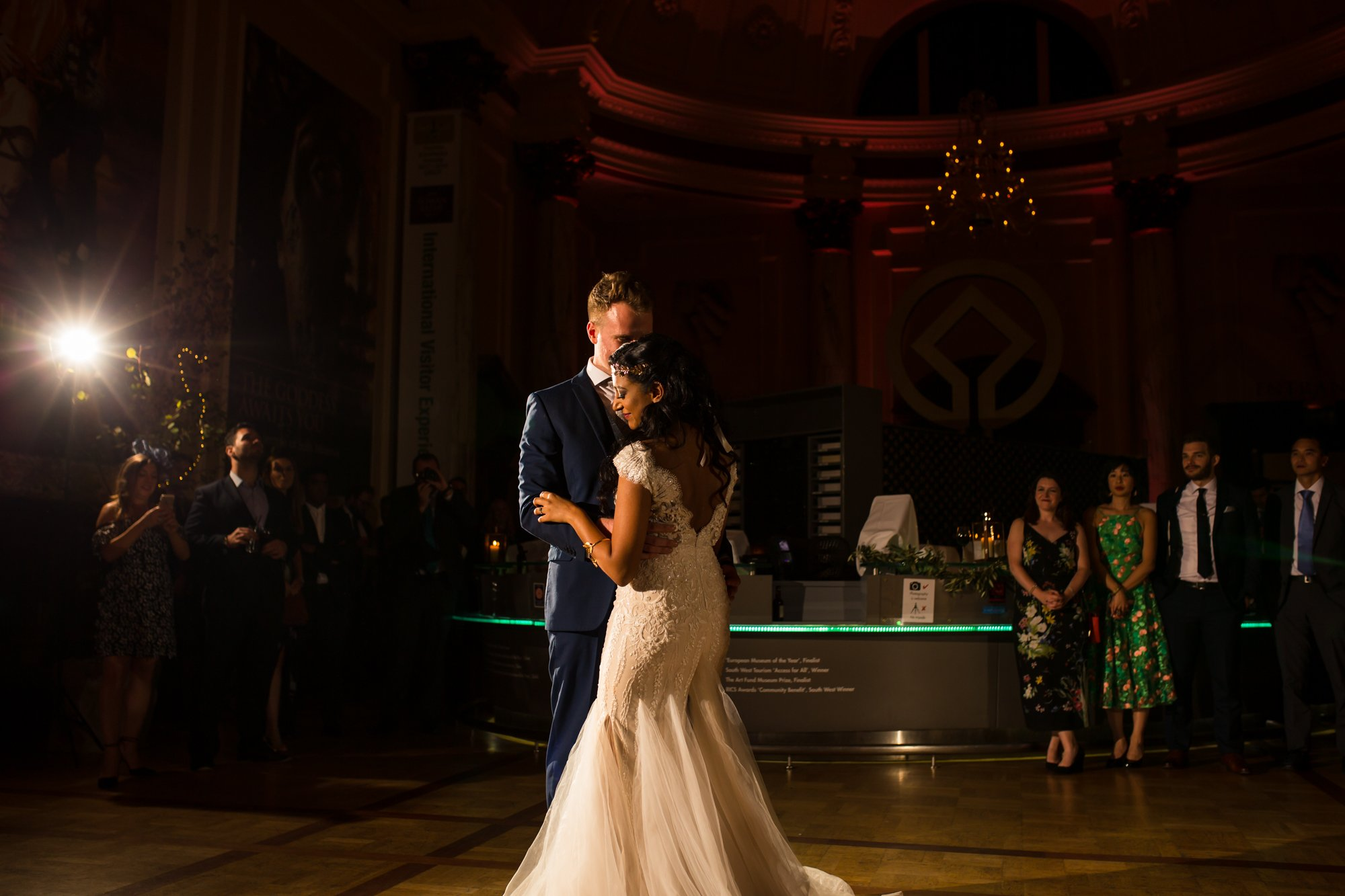 The Roman Baths, Somerset, Indian wedding photographers, first dance