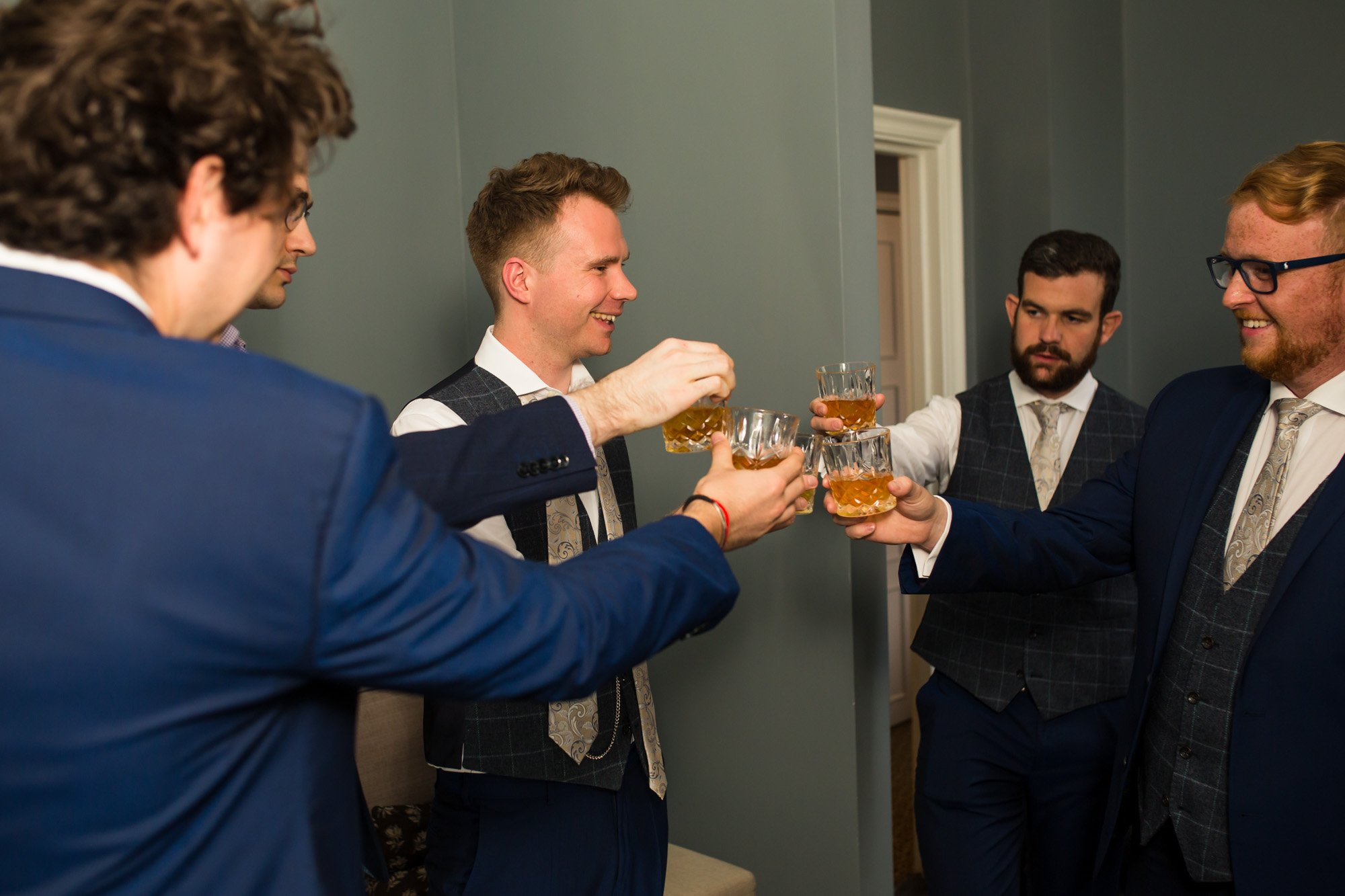 The Gainsborough Hotel, Bath, Indian wedding photographers, groom prep