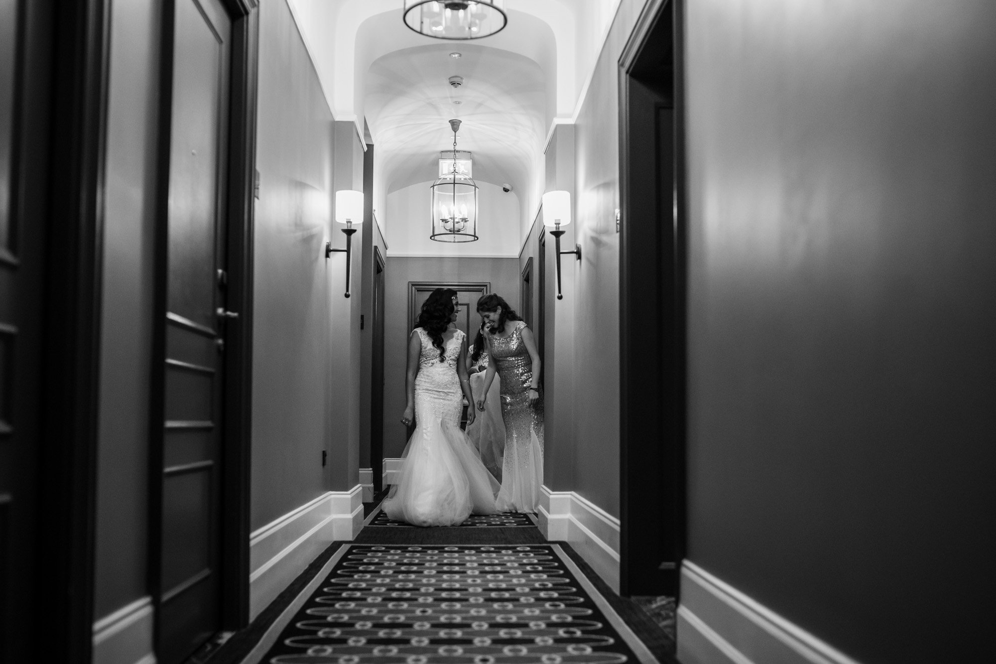 The Gainsborough Hotel, Bath, wedding dress, Indian wedding photographers, bride, bridesmaids