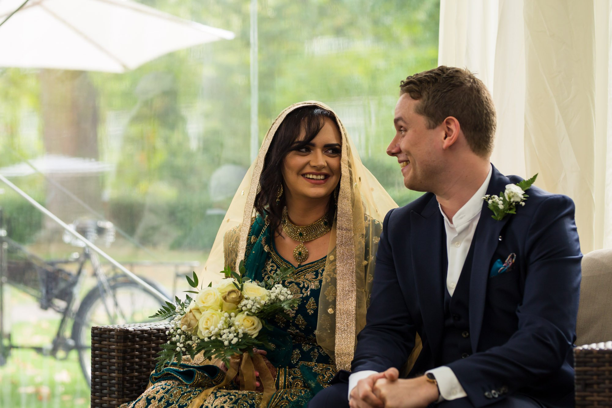 Indian wedding photographer in London, Regents University London, York Lawns
