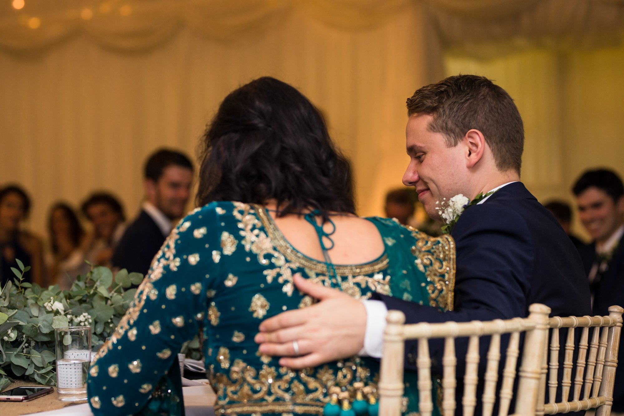 Indian wedding photographer in London, Regents University London, reception