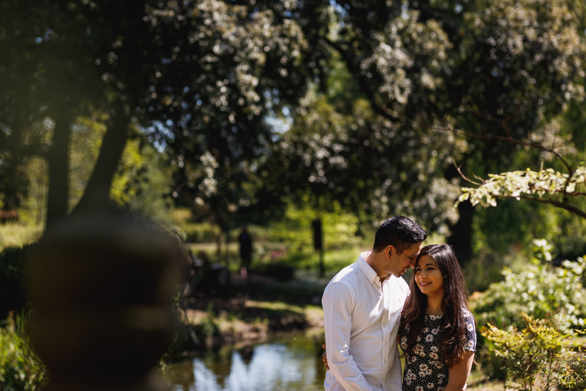 Pre-wed shoot in London, engagement shoot, couples portraits, Regents Park