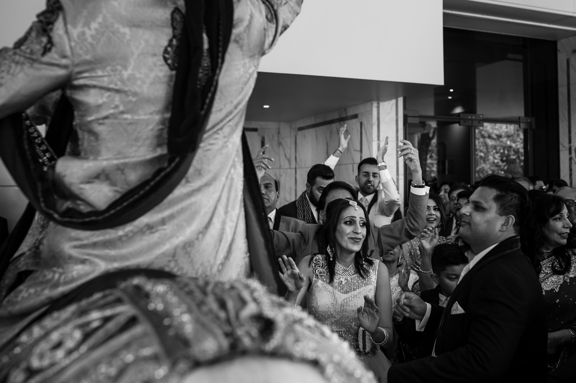 Groom arrival, Radisson Blu Edwardian Heathrow, London wedding photographer