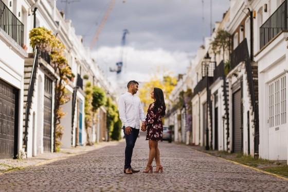 Engagement shoot in London, London wedding photographer, Holland Park