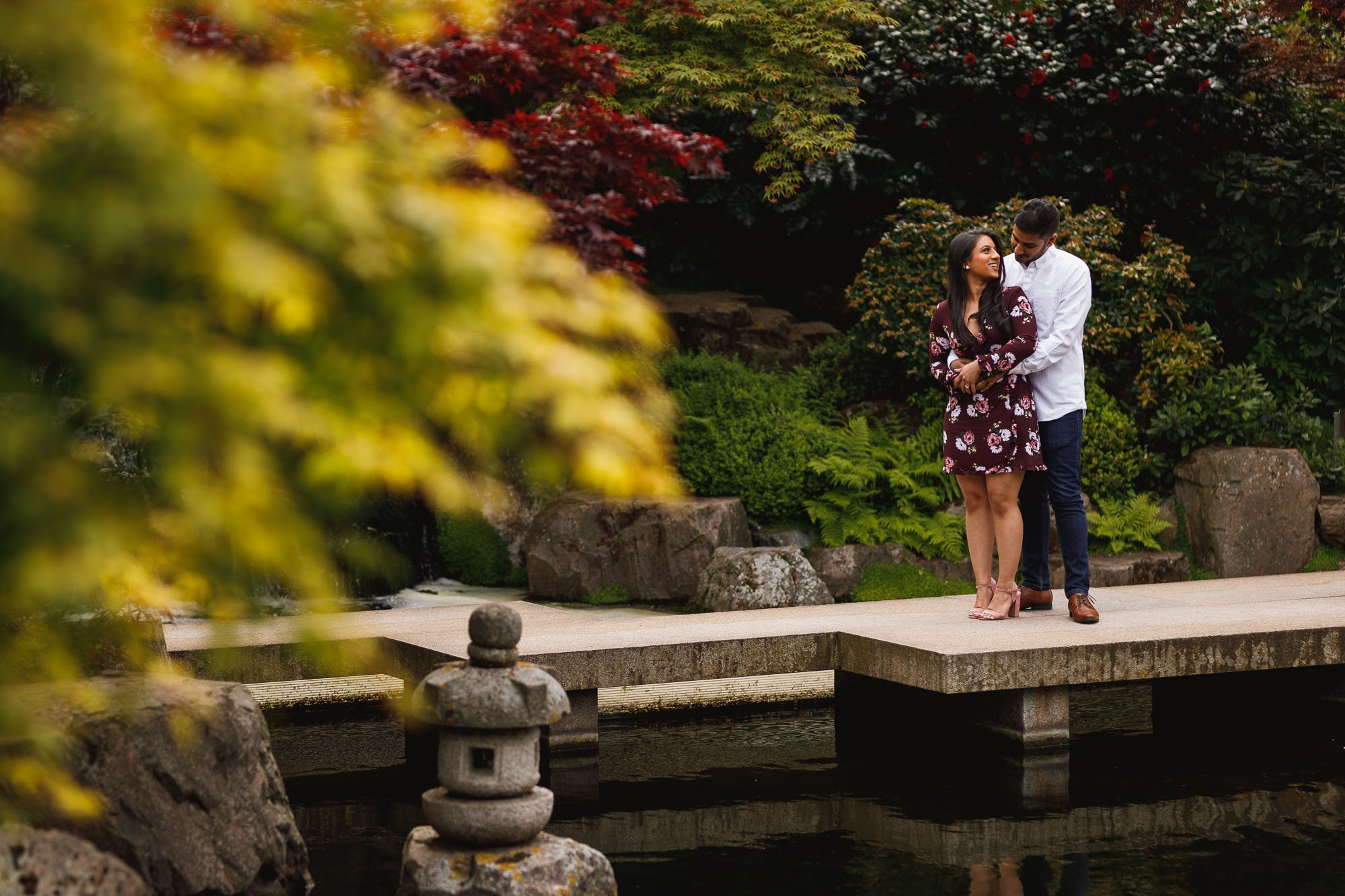 Engagement shoot in London, London wedding photographer, Holland Park