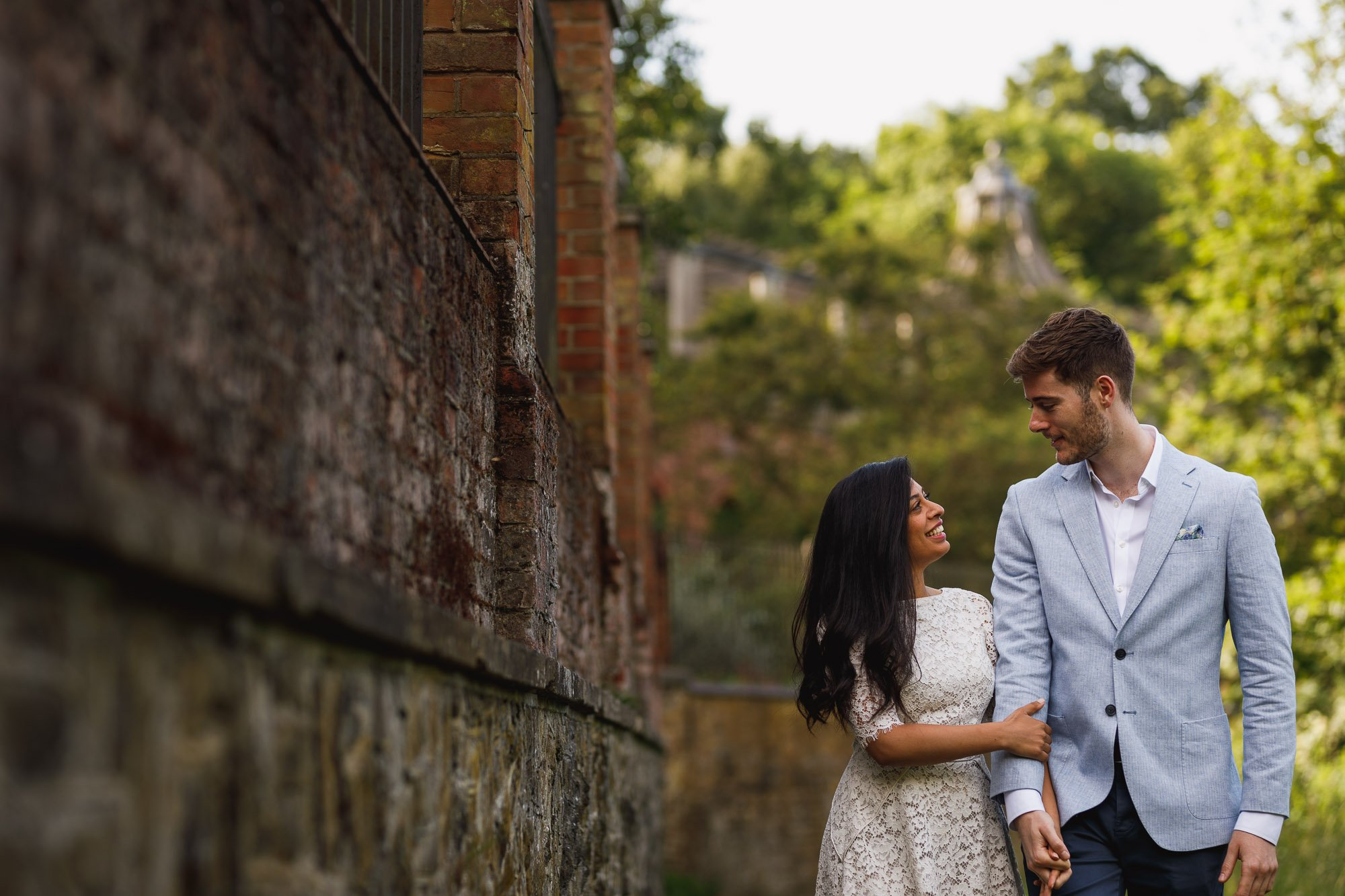 Hill Gardens and Pergola, Hampstead, London wedding photographer