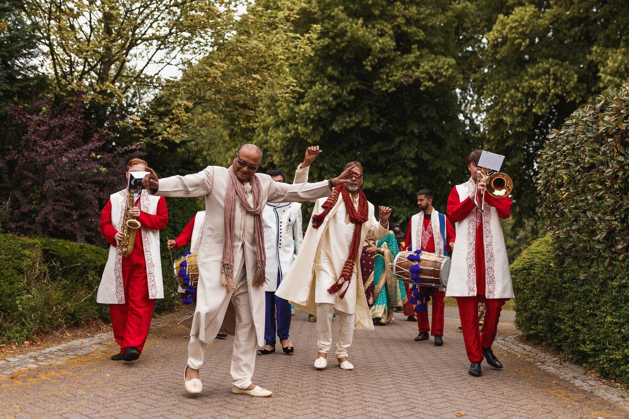 Dunchurch Park Hotel, Midlands Asian Wedding Photographer, Jaan arrival