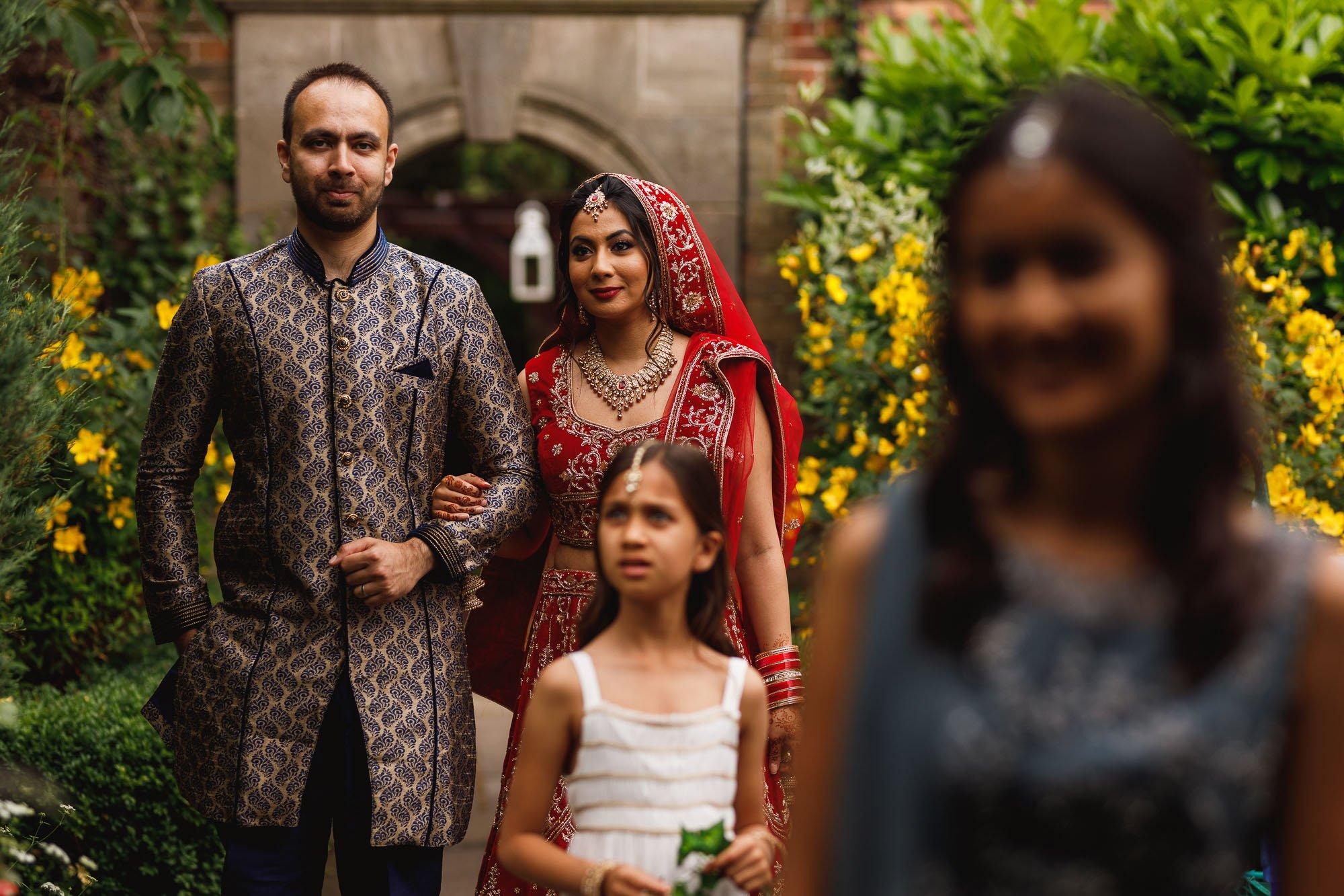 Dunchurch Park Hotel, Midlands Asian Wedding Photographer, bride arrival