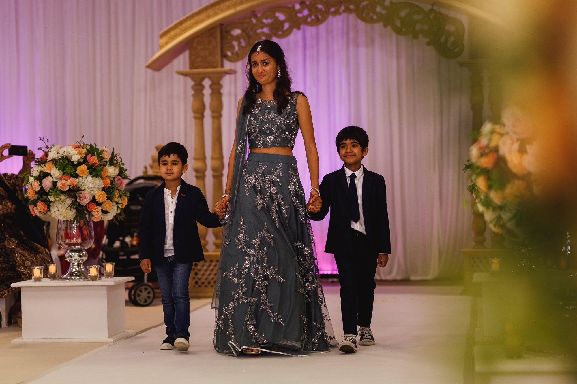 Dunchurch Park Hotel, Midlands Asian Wedding Photographer, bridesmaid
