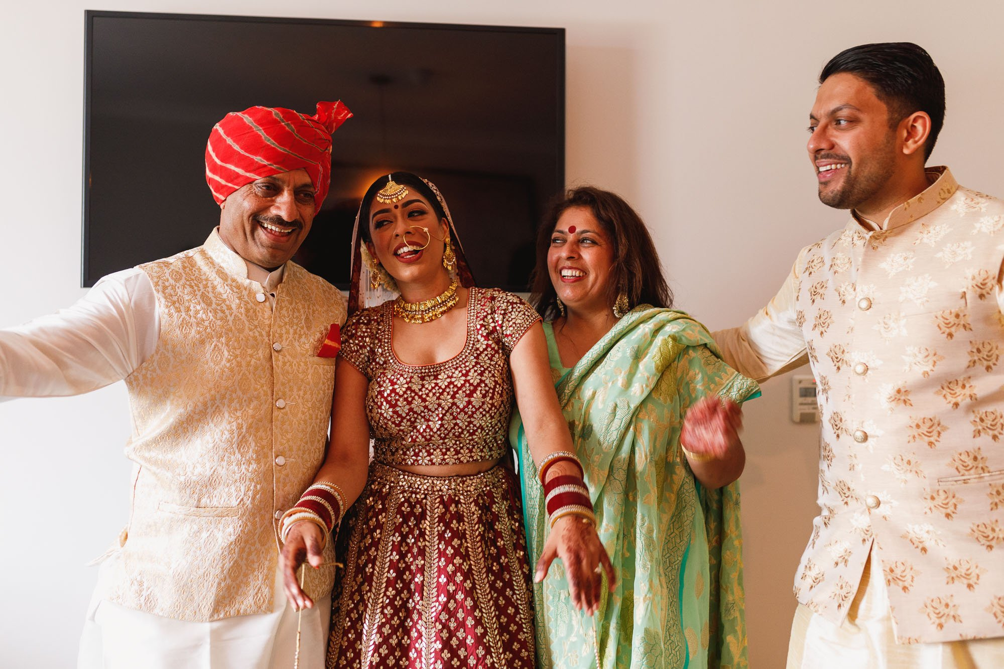De Vere Wokefield Estate, Asian wedding photographer, brides family