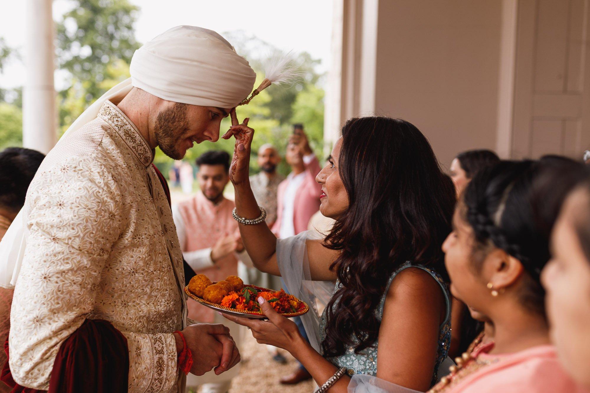De Vere Wokefield Estate, Asian wedding photographer, grooms arrival