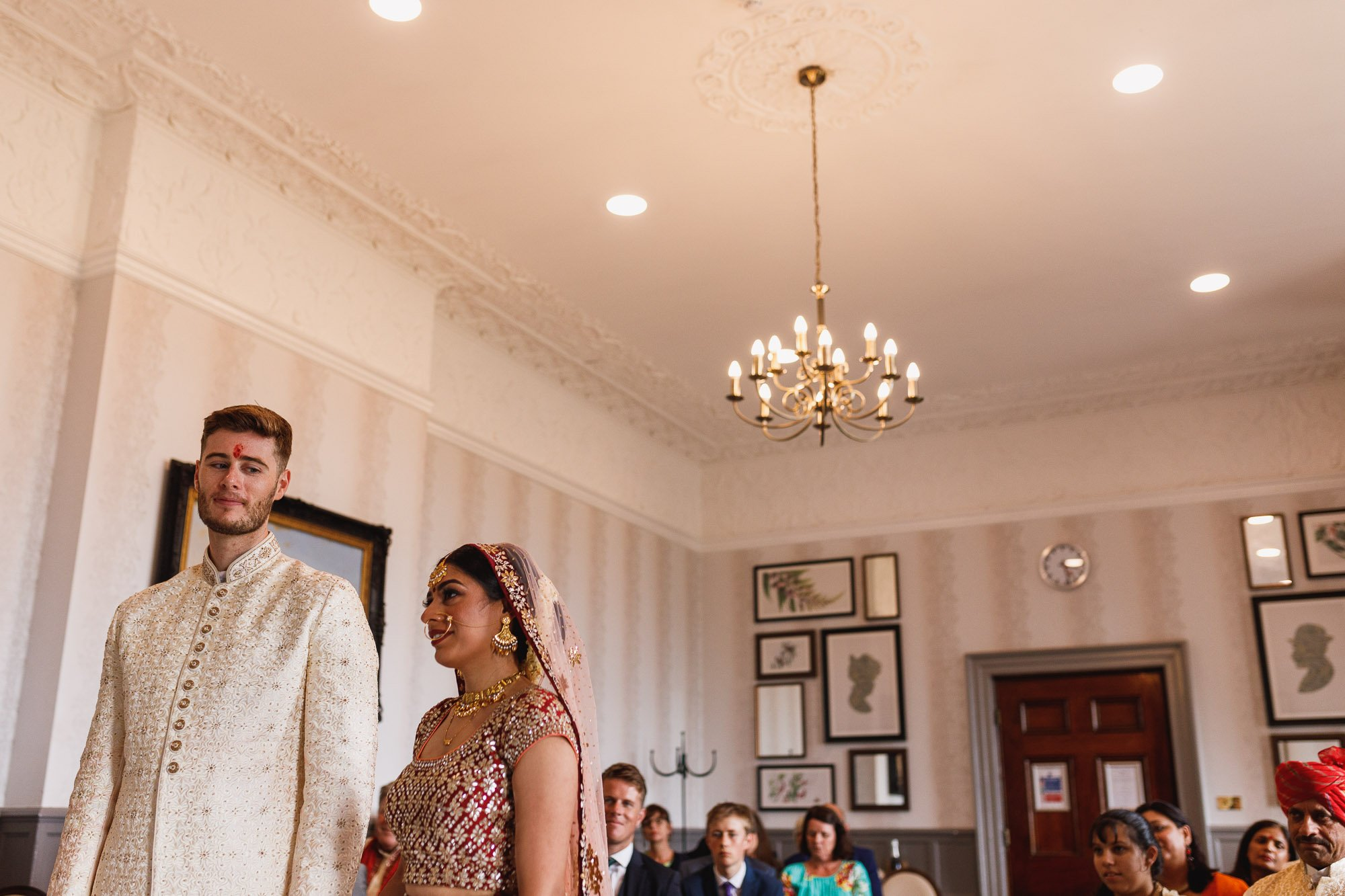 De Vere Wokefield Estate, Asian wedding photographer, civil ceremony