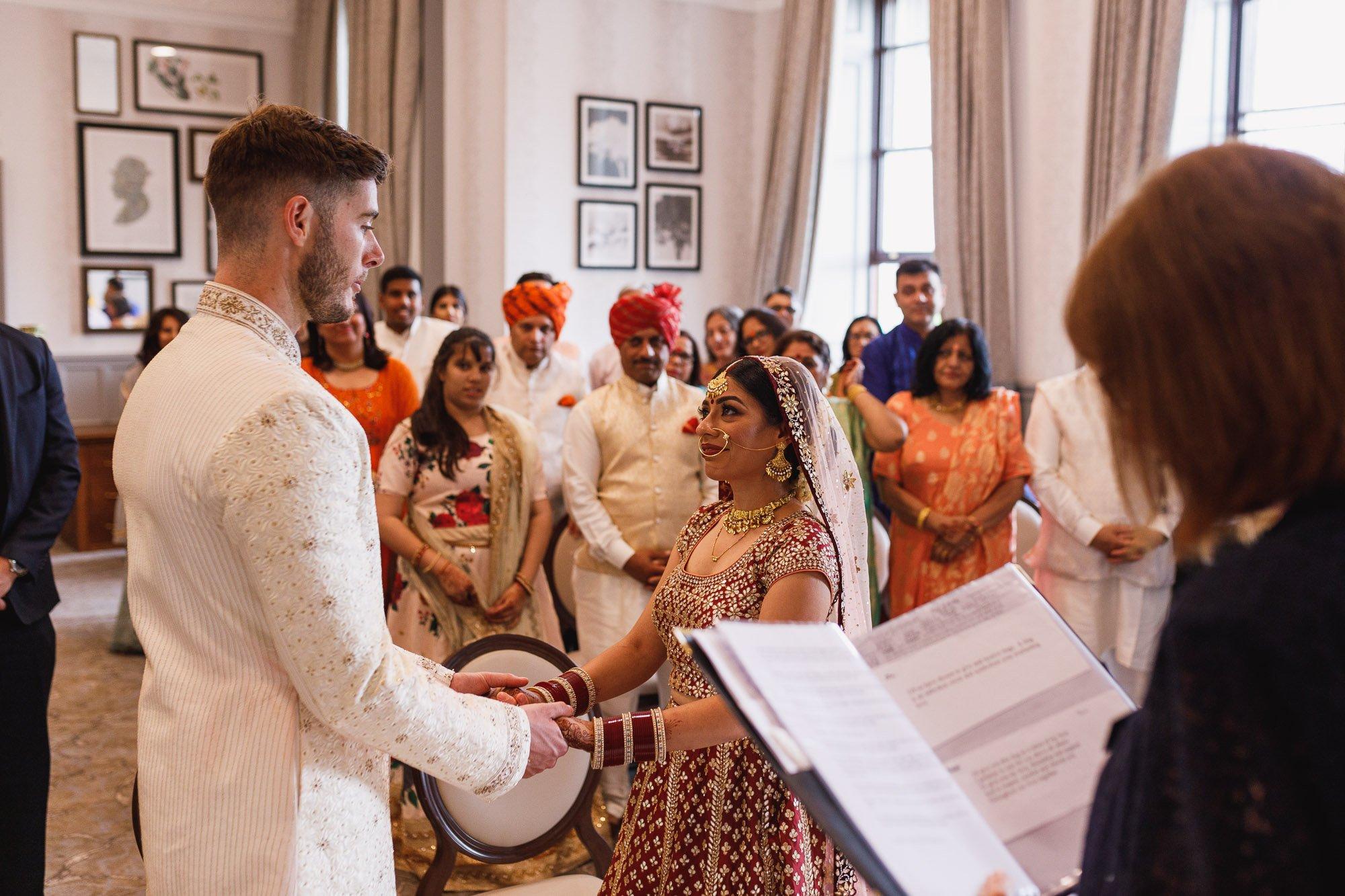 De Vere Wokefield Estate, Asian wedding photographer, civil ceremony