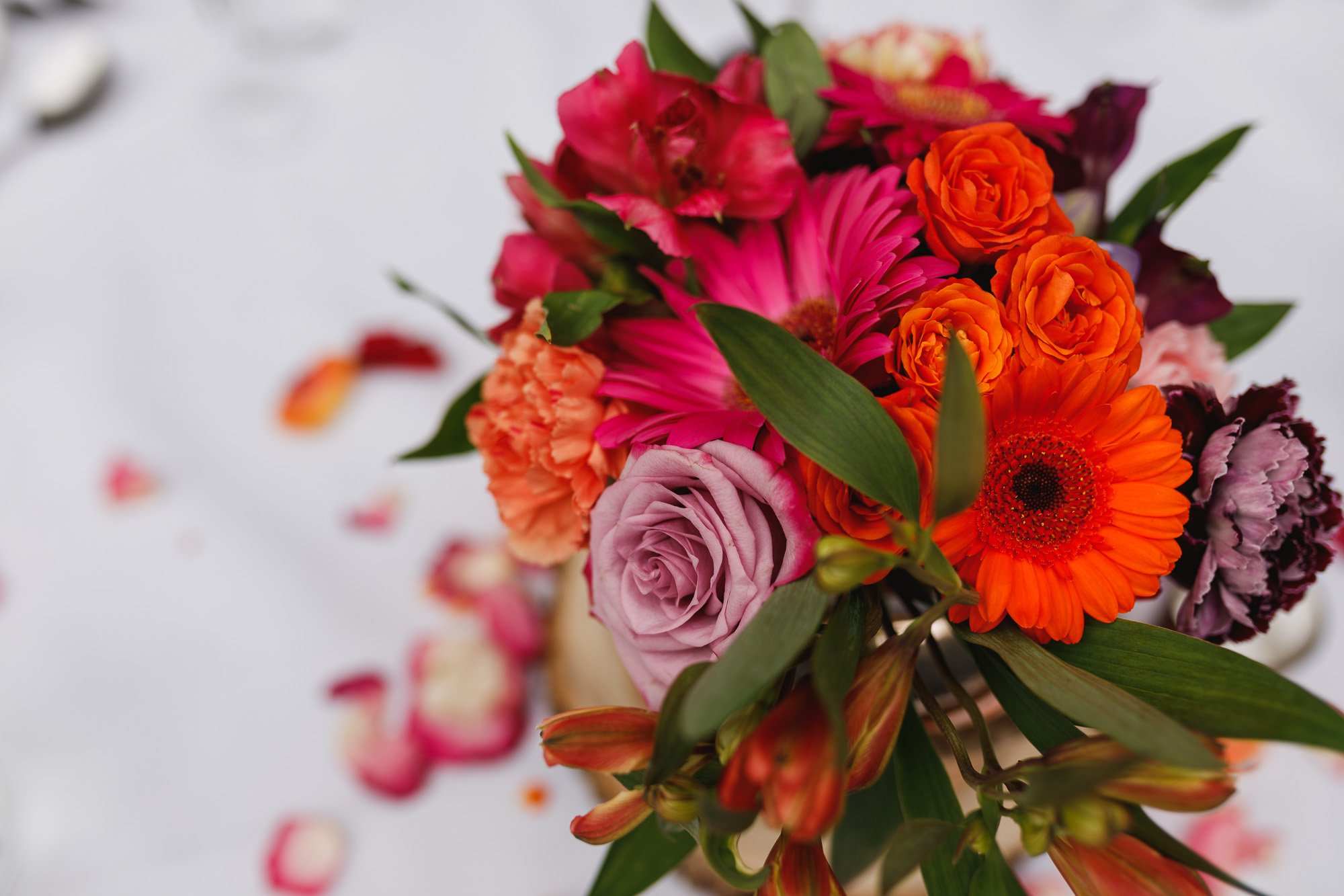 De Vere Wokefield Estate, Asian wedding photographer, reception, centre pieces, fresh flowers