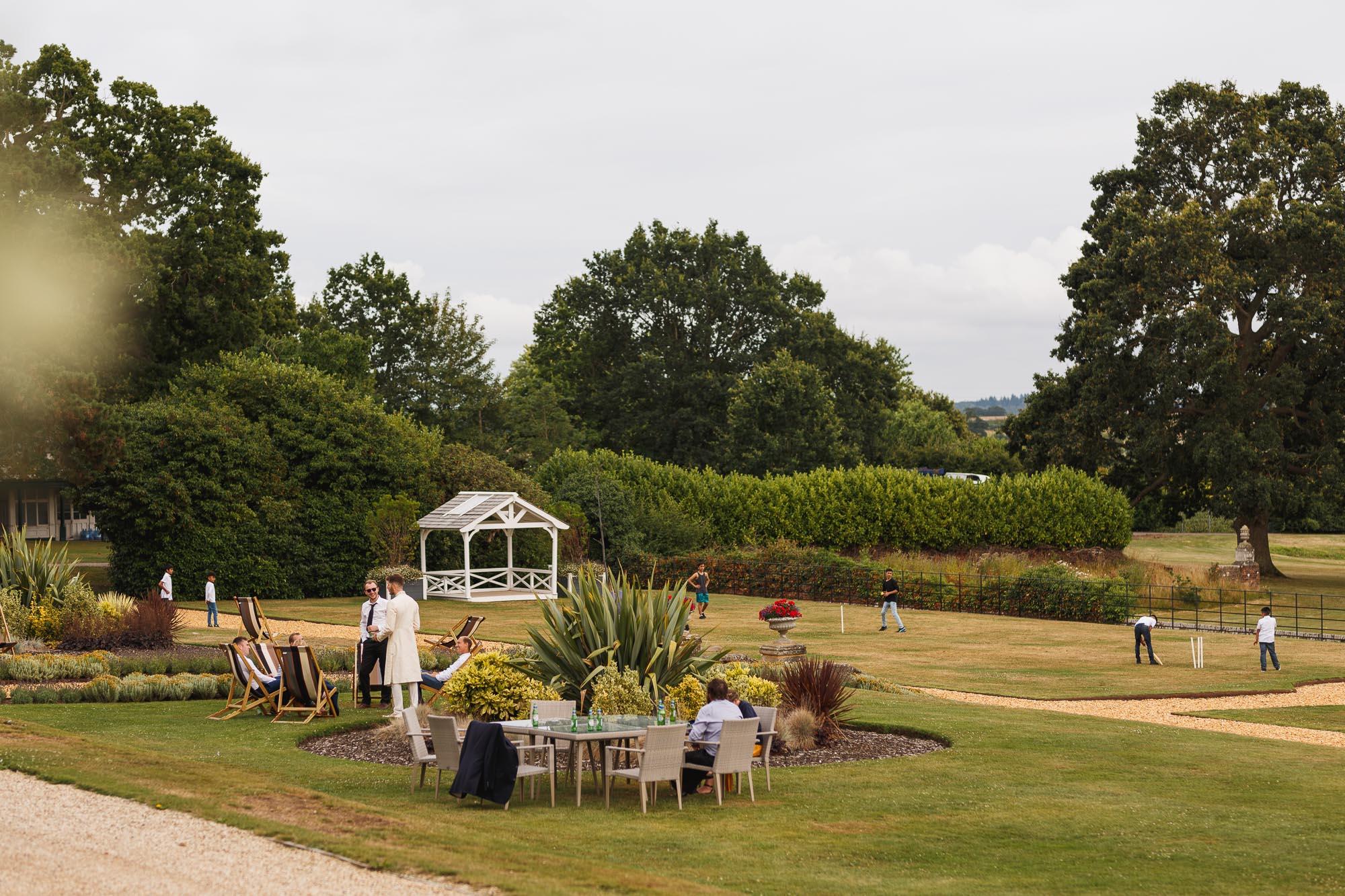 De Vere Wokefield Estate, Asian wedding photographer, wedding venue, cricket