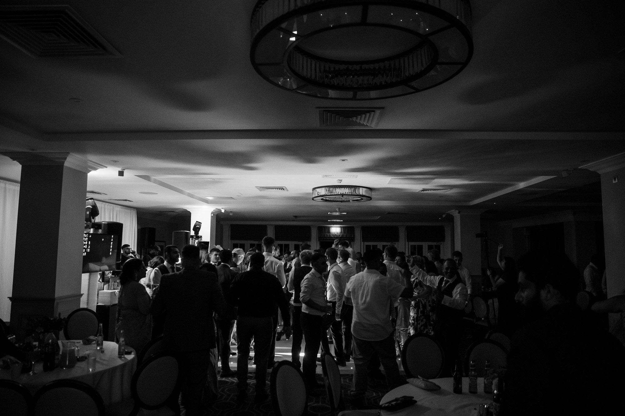 De Vere Wokefield Estate, Asian wedding photographer, reception, dance floor