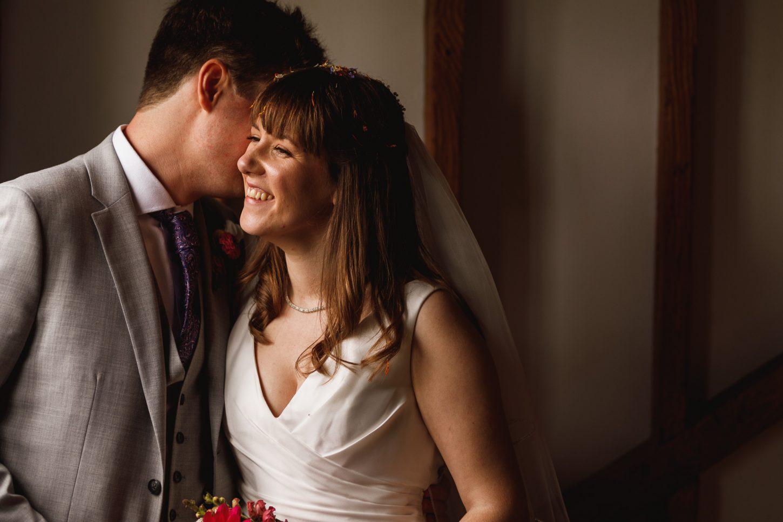 Milling Barn, Hertfordshire Wedding Photographer, bride and groom portraits