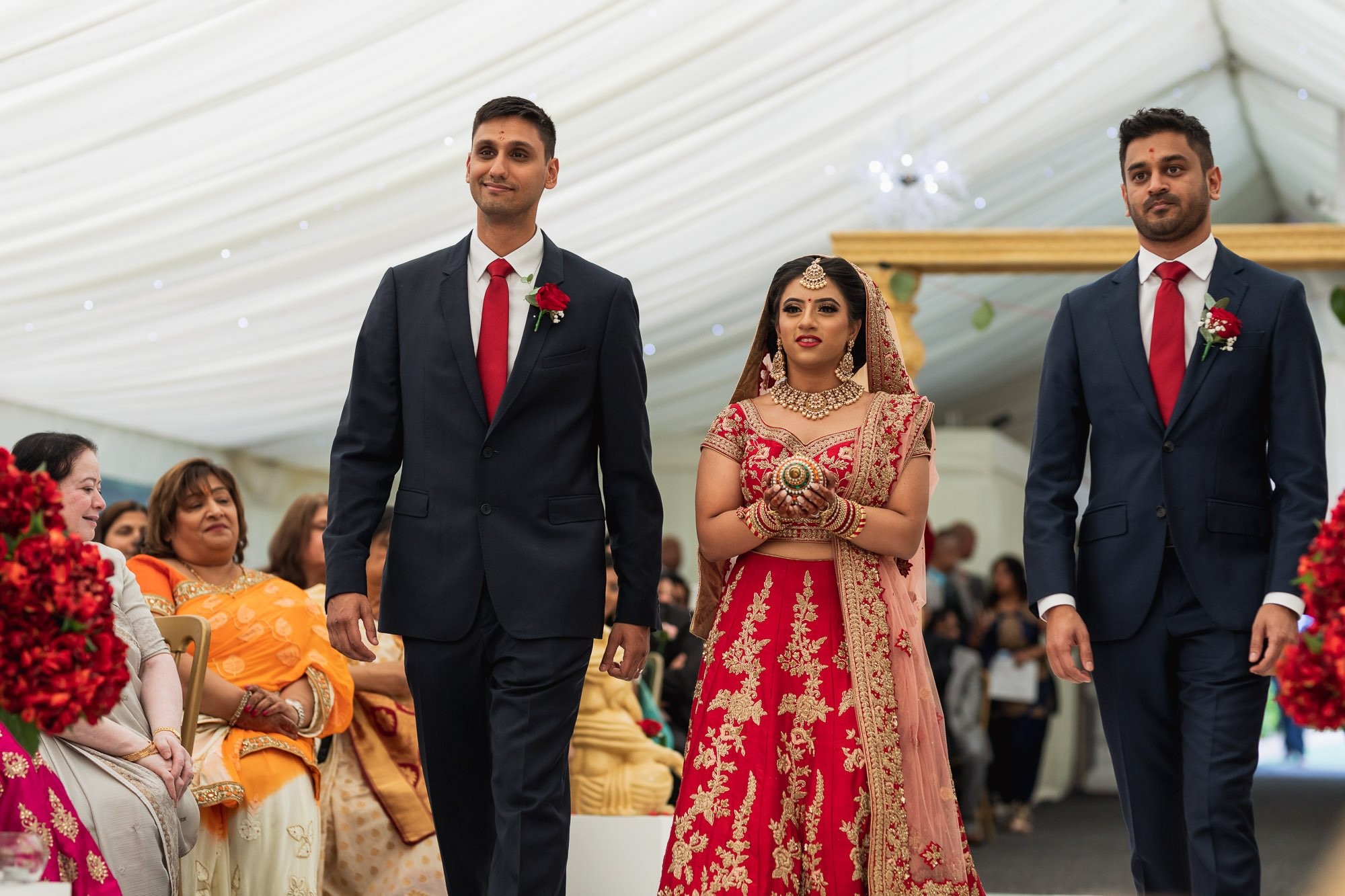 Dunchurch Park Hotel, Asian wedding photographer Midlands, bride arrival