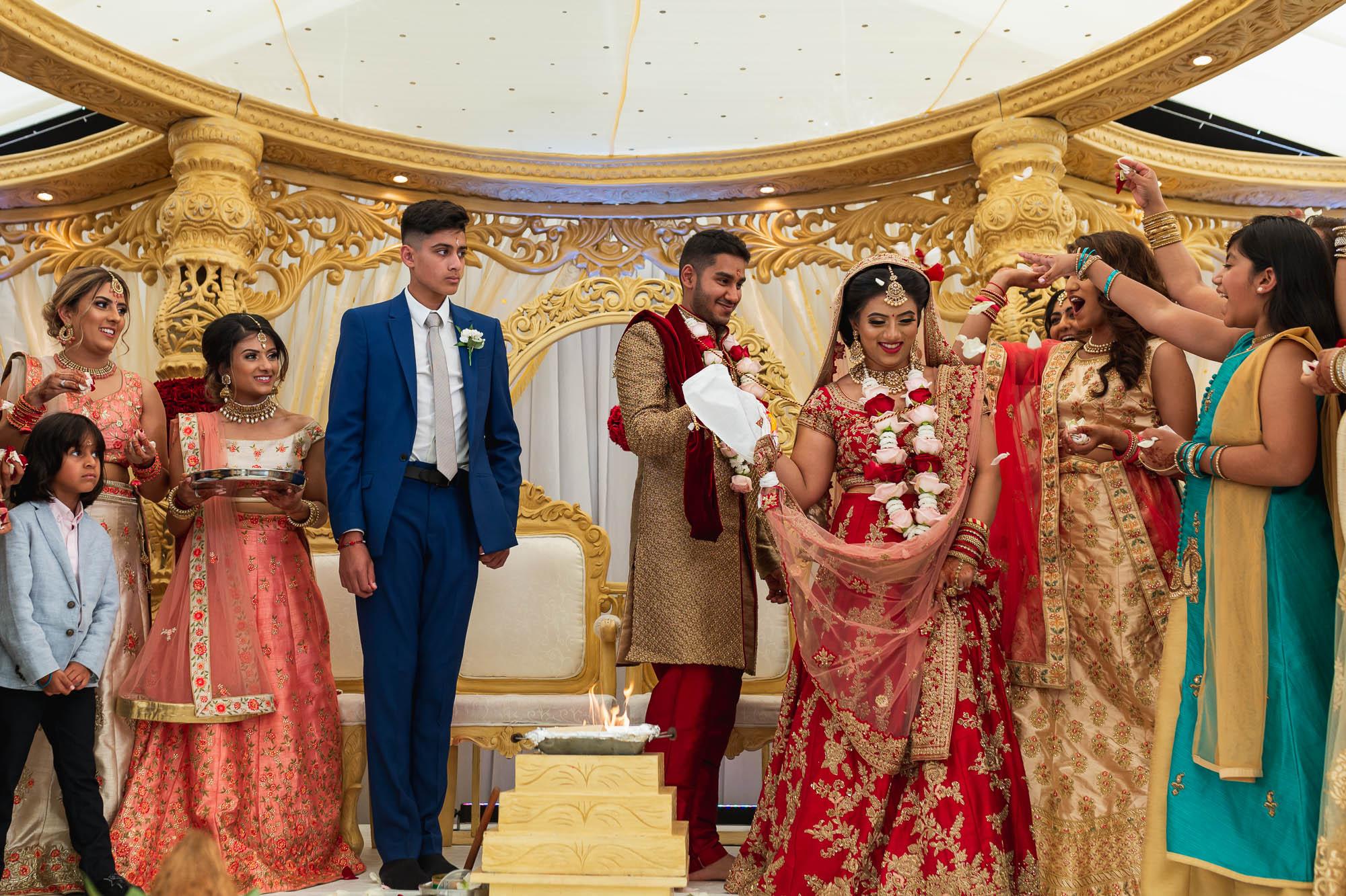Dunchurch Park Hotel, Asian wedding photographer Midlands, Pheras