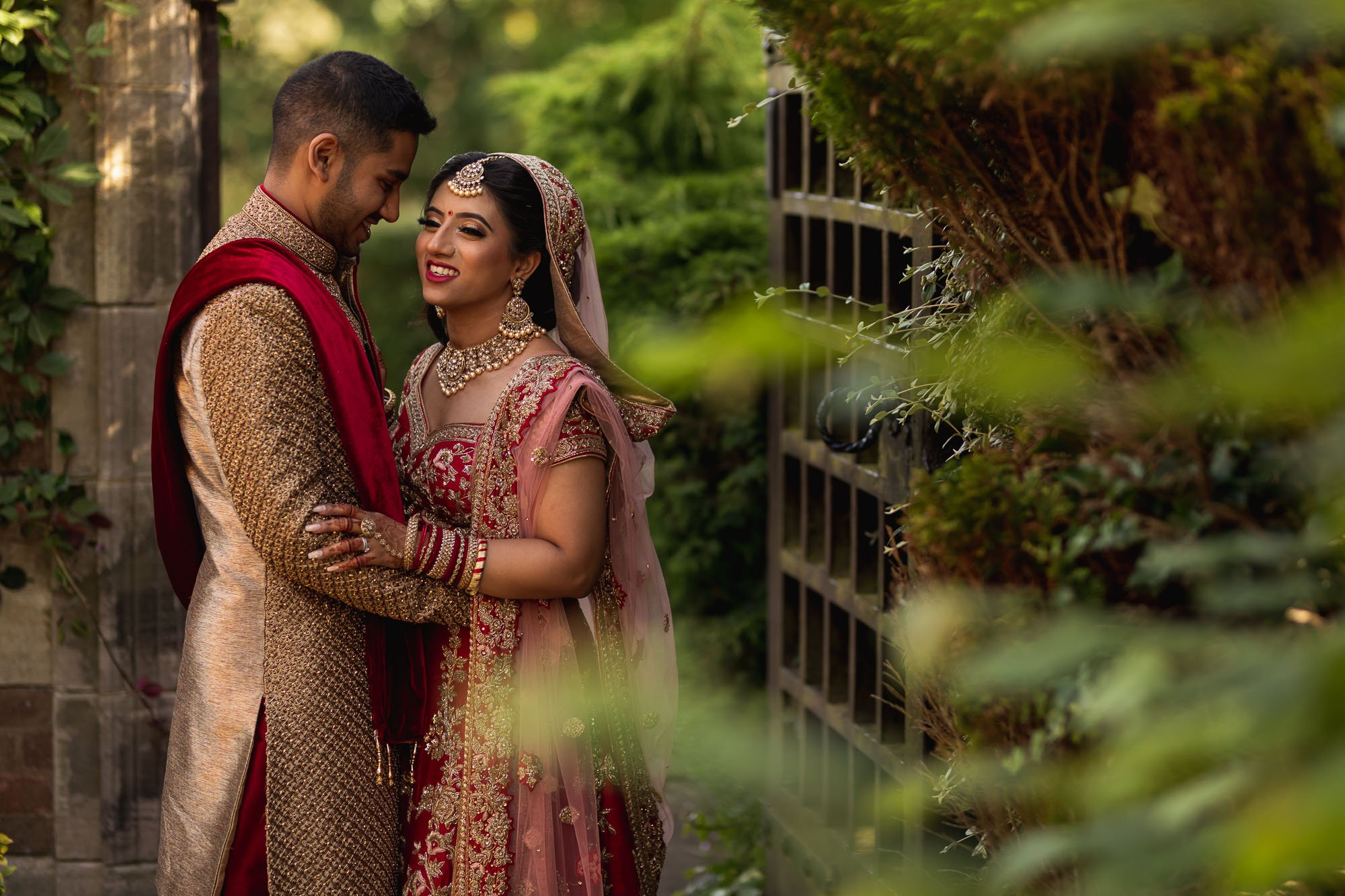 Dunchurch Park Hotel, Asian wedding photographer Midlands, couples portraits